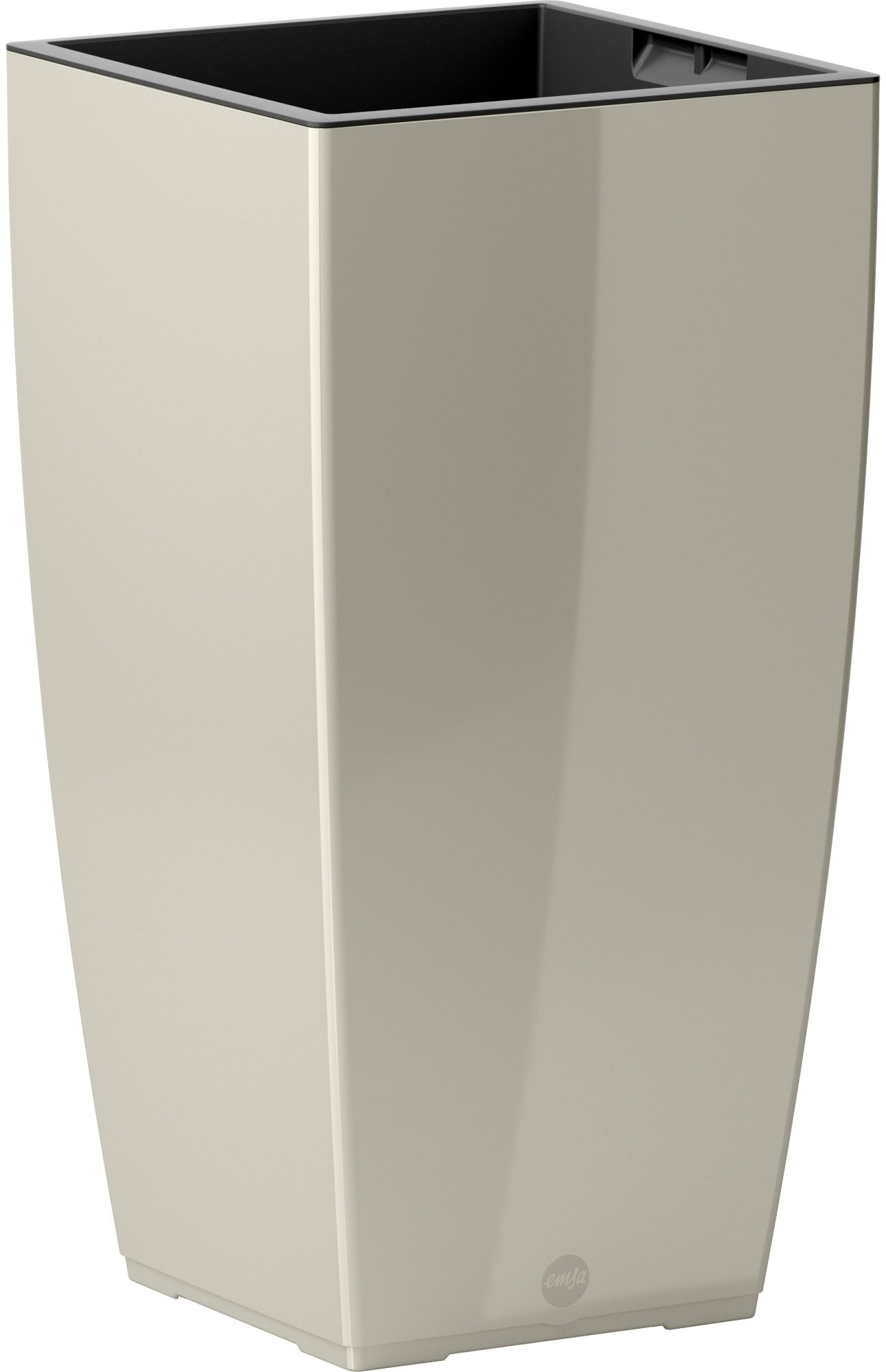 EMSA Blumenkasten »CASA Brilliant Säule«, BxTxH: 30x30x57 cm, grau