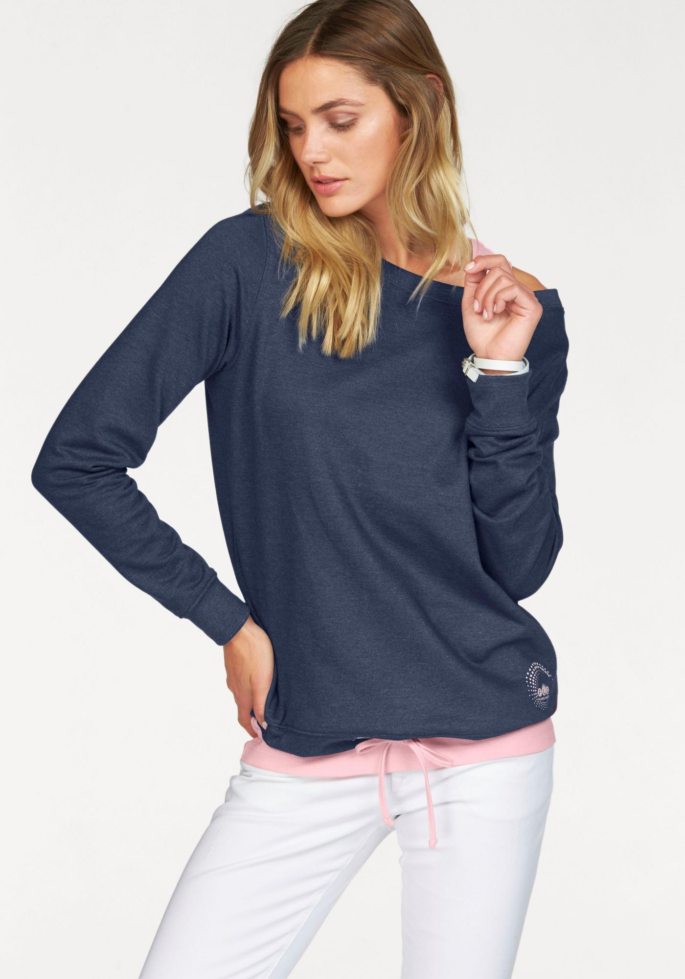 FLG FLASHLIGHTS Flashlights Longsweatshirt (Set, 2 tlg., mit Top)