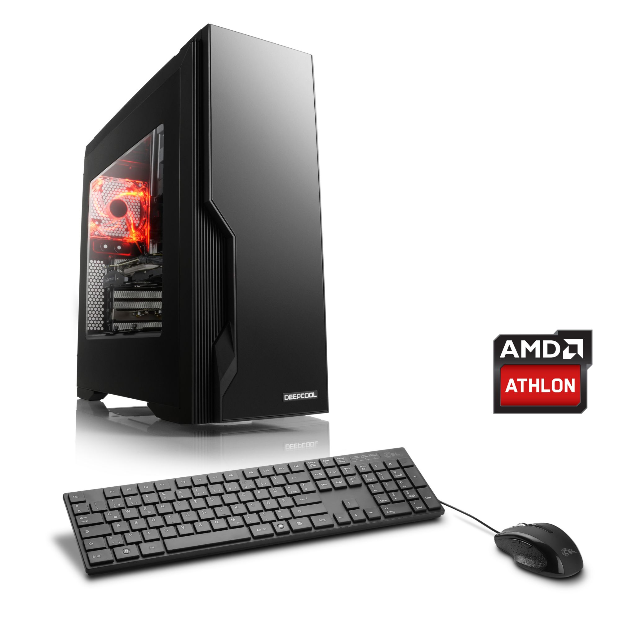 CSL  Gaming PC | AMD Athlon X4 880K | AMD RX 460 | 8 GB RAM »Sprint T4814 Windows 10 Home«