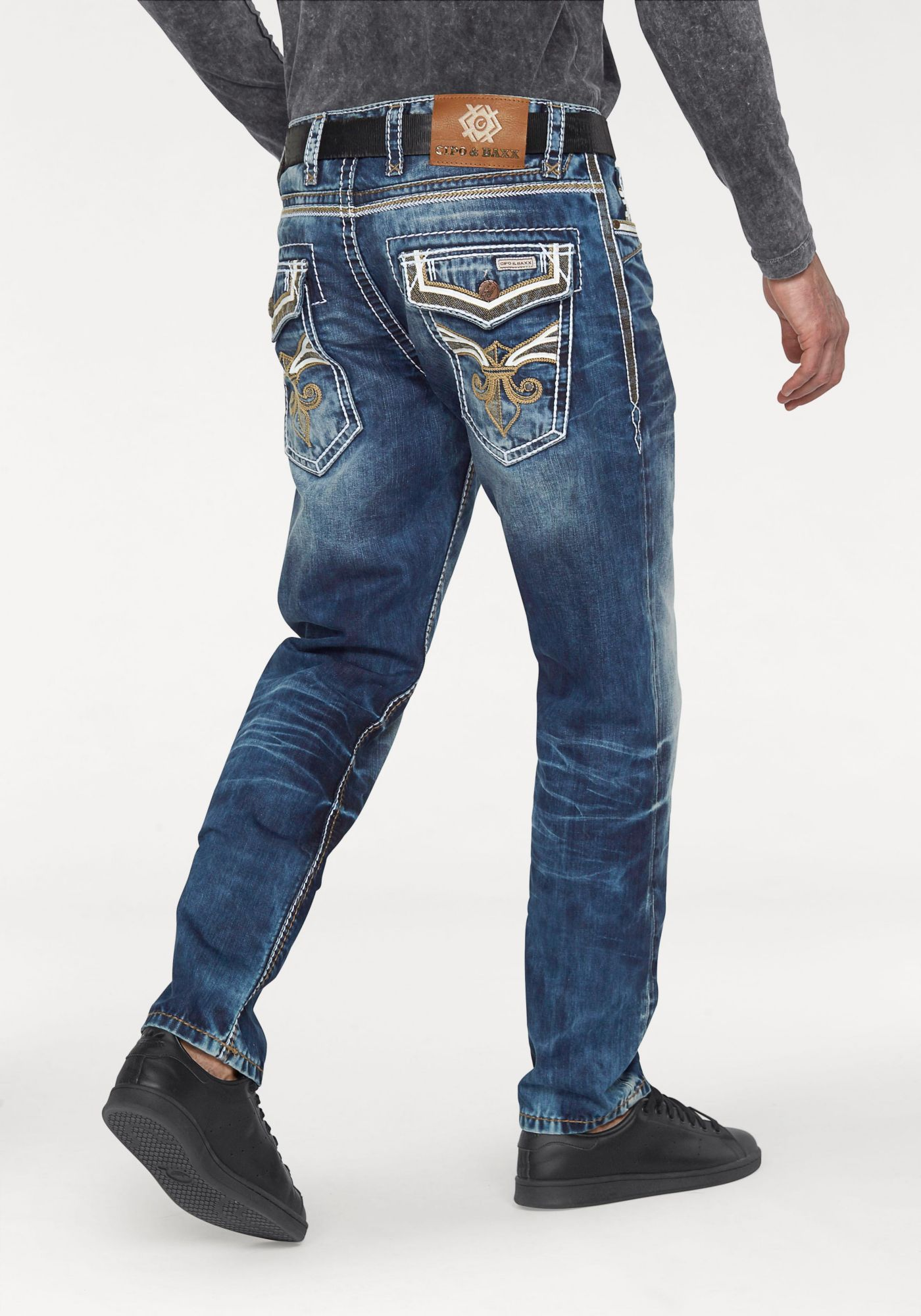 CIPO BAXX Cipo & Baxx Loose-fit-Jeans »OCD 104«