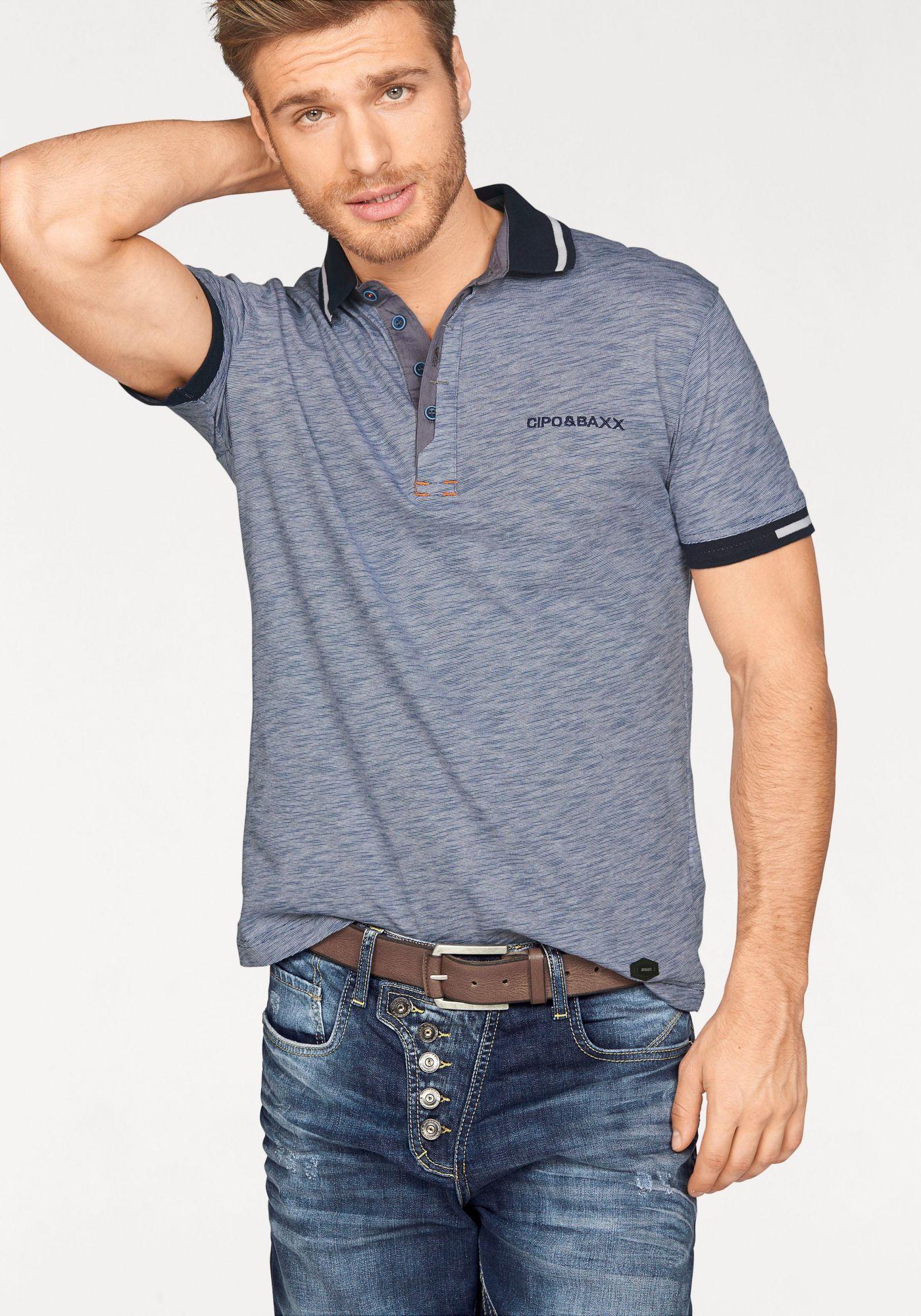 CIPO BAXX Cipo & Baxx Poloshirt