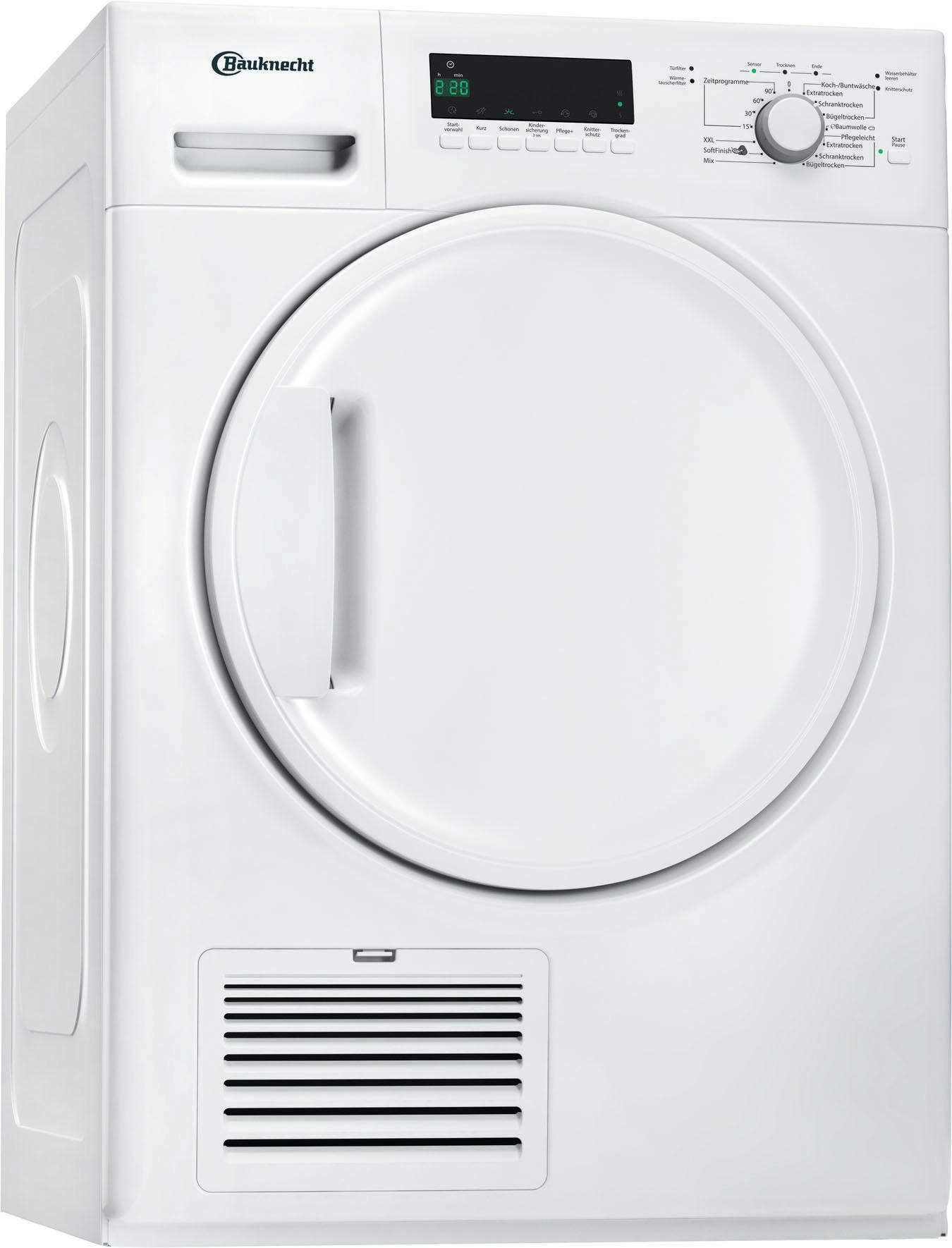 BAUKNECHT Bauknecht TK Plus 7A3BW Wärmepumpentrockner (EEK: A+++)