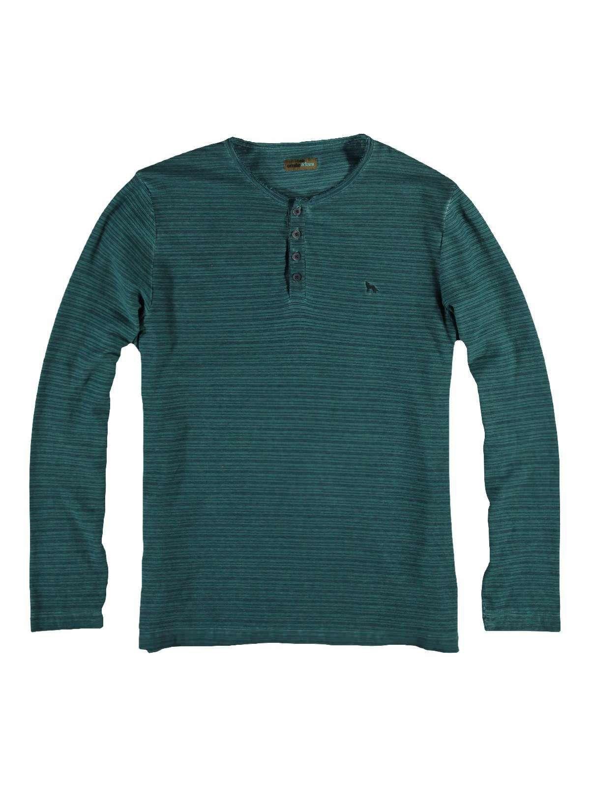 EMILIO ADANI emilio adani Henley Shirt