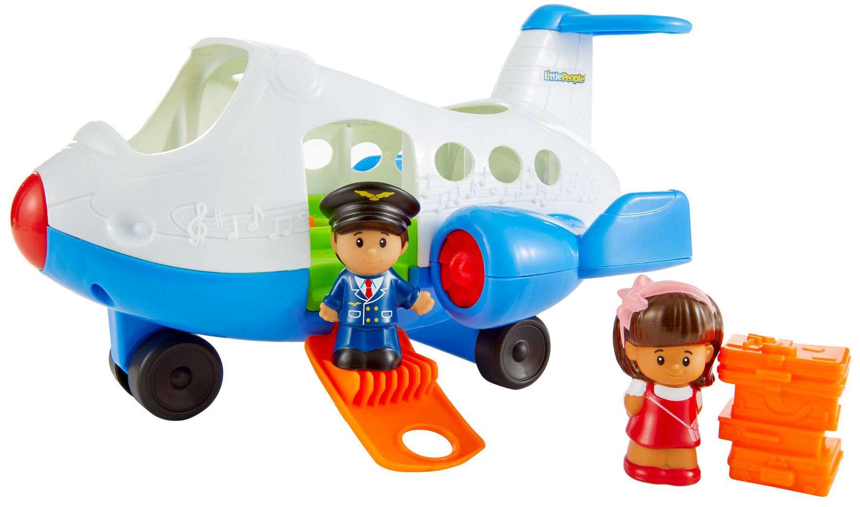 FISHER PRICE Fisher Price, Flugzeug, »Little People«