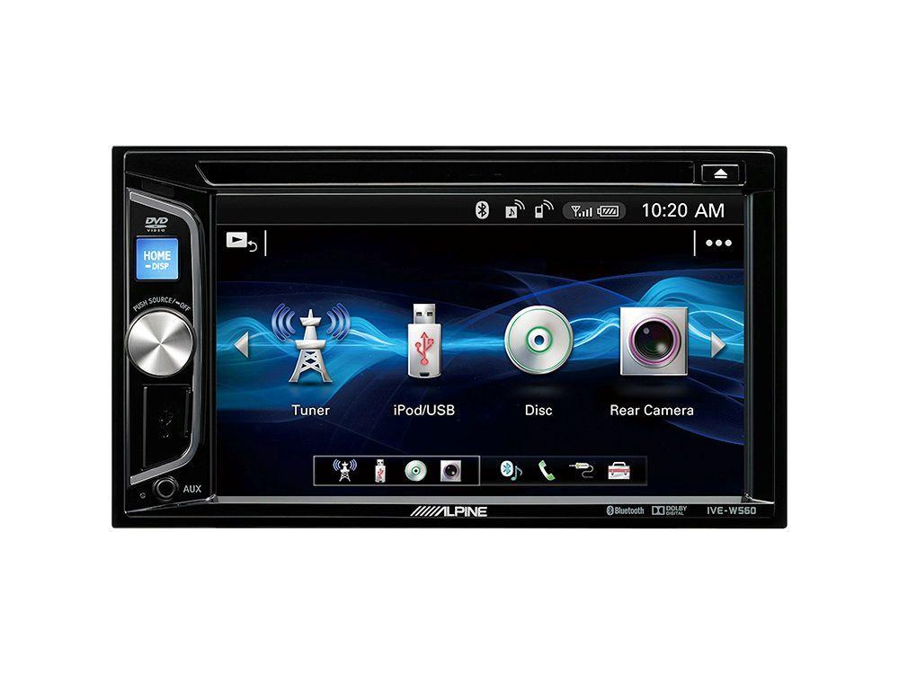 ALPINE  2 DIN Mobile-Media-Station »IVE-W560BT«