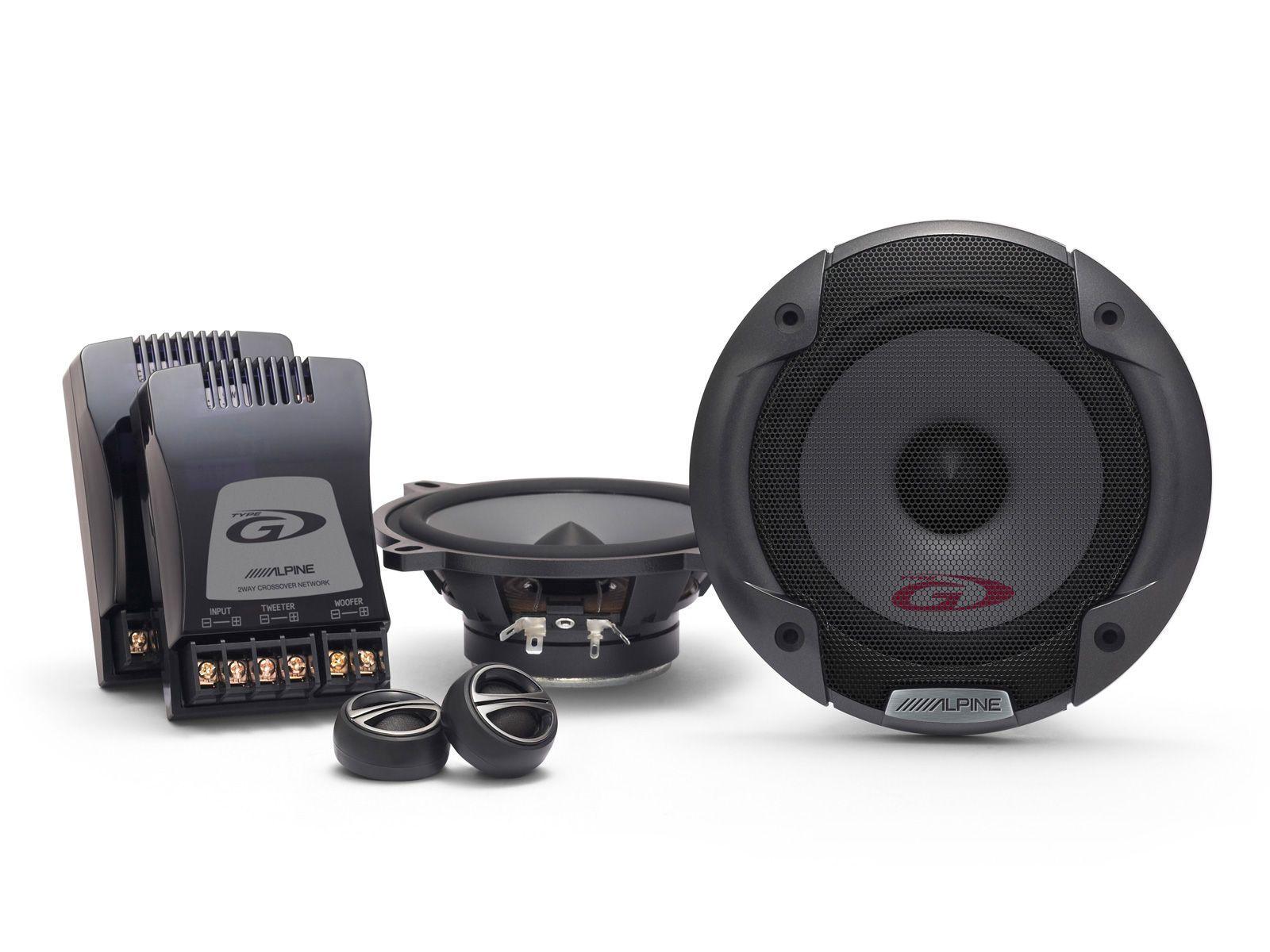 ALPINE  2 - Wege Lautsprecher »SPG-13CS«