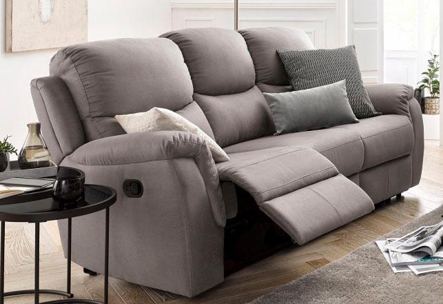 ATLANTIC HOME COLLECTION Atlantic Home Collection 3-Sitzer, mit Relaxfunktion und Federkern