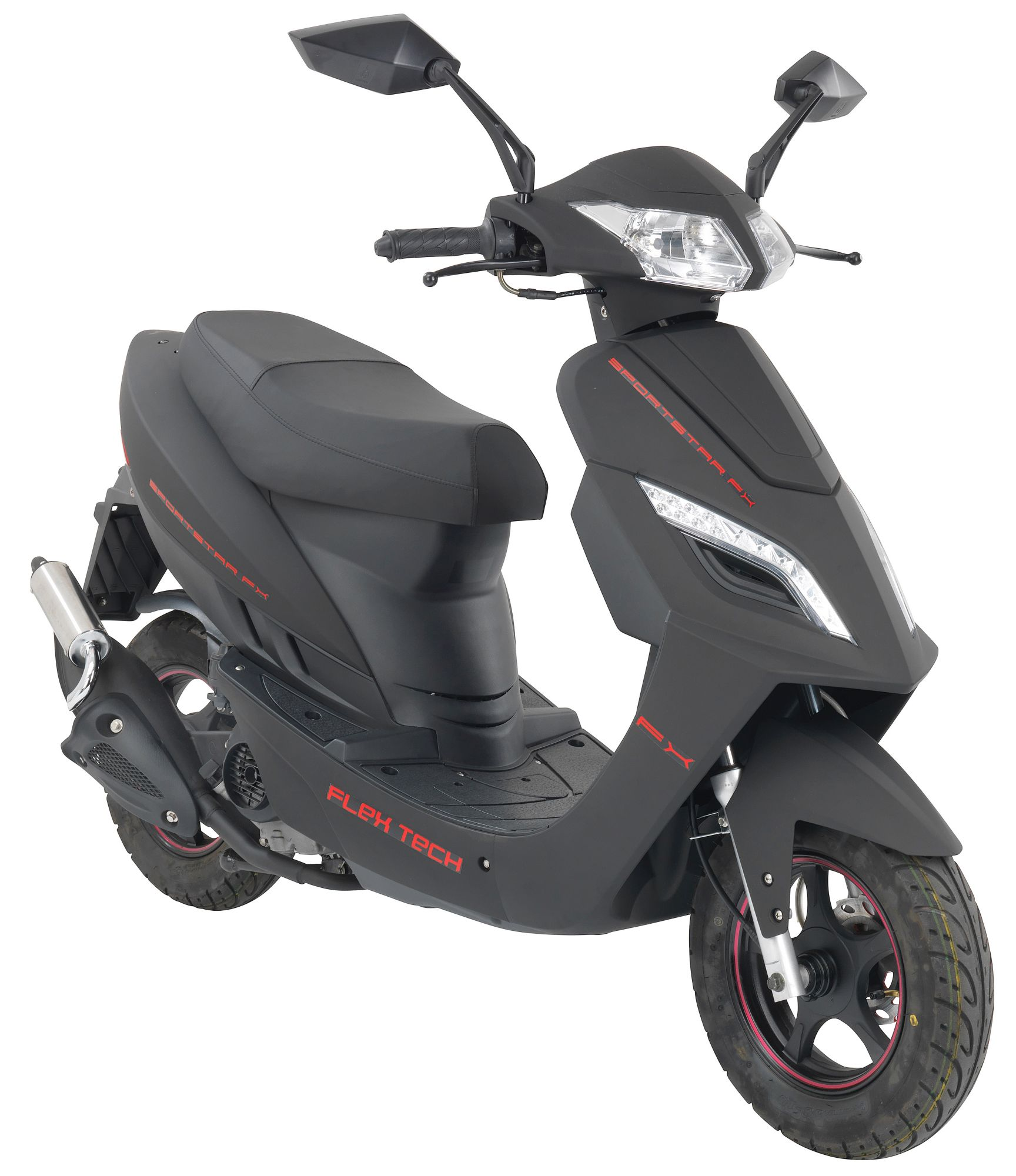 Flex Tech Motorroller »SPORTSTAR FX «, 50 ccm, 45 km/h