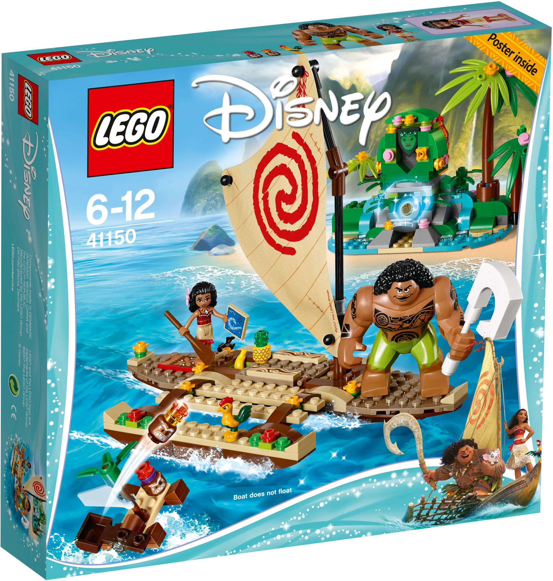 LEGO® 41150 Disney Princess Vaiana auf hoher See, Konstruktionsspielzeug
