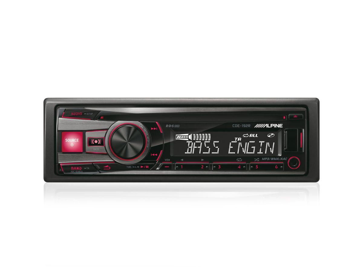 ALPINE  1-DIN CD-Tuner »CDE-192R«