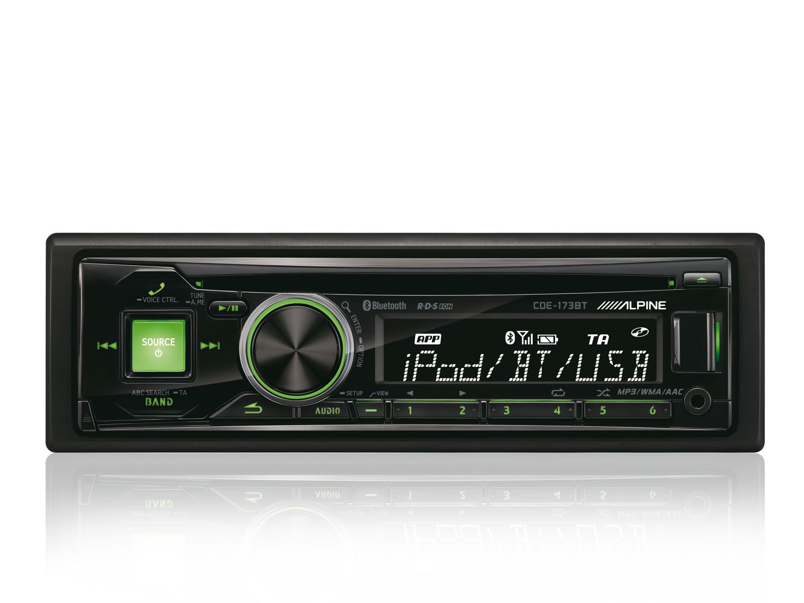 ALPINE  1-DIN CD-Tuner »CDE-173BT«
