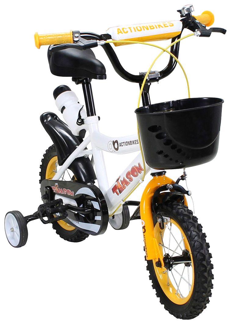 ACTIONBIKES MOTORS Actionbikes Motors Kinderfahrrad »Timson «, 12 Zoll, 1 Gang, Felgenbremse