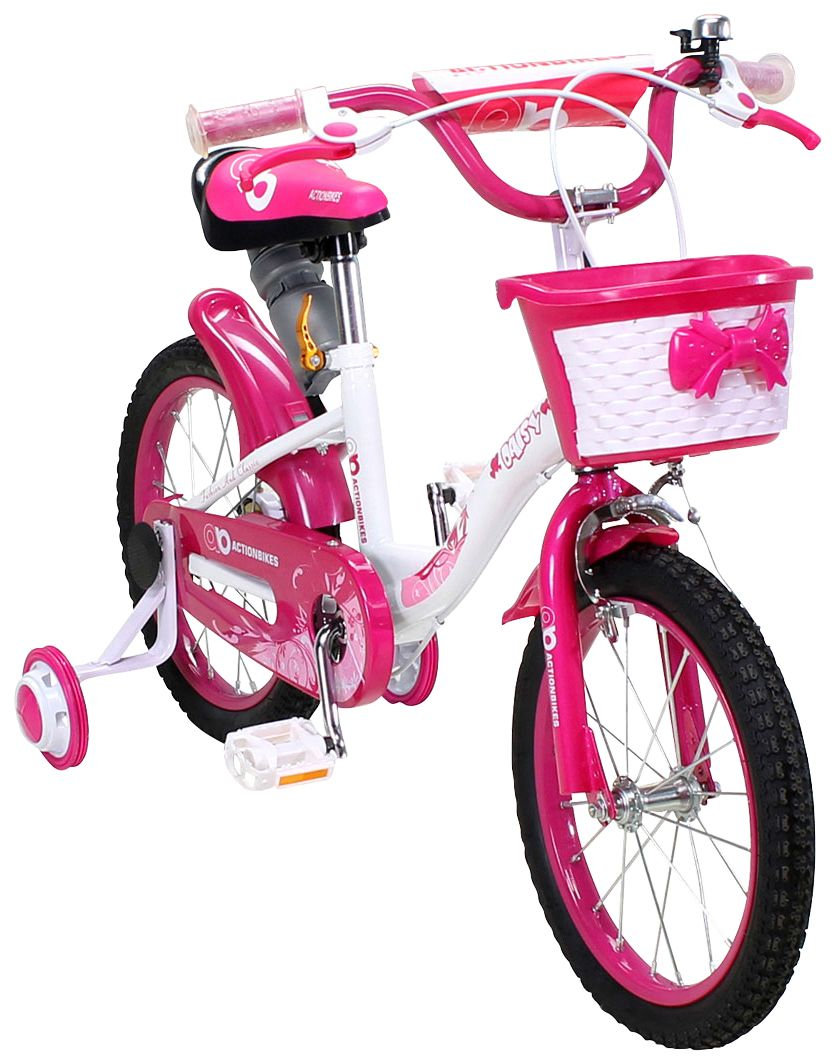 ACTIONBIKES MOTORS Actionbikes Motors Kinderfahrrad »Daisy«, 16 Zoll, 1 Gang, Felgenbremse