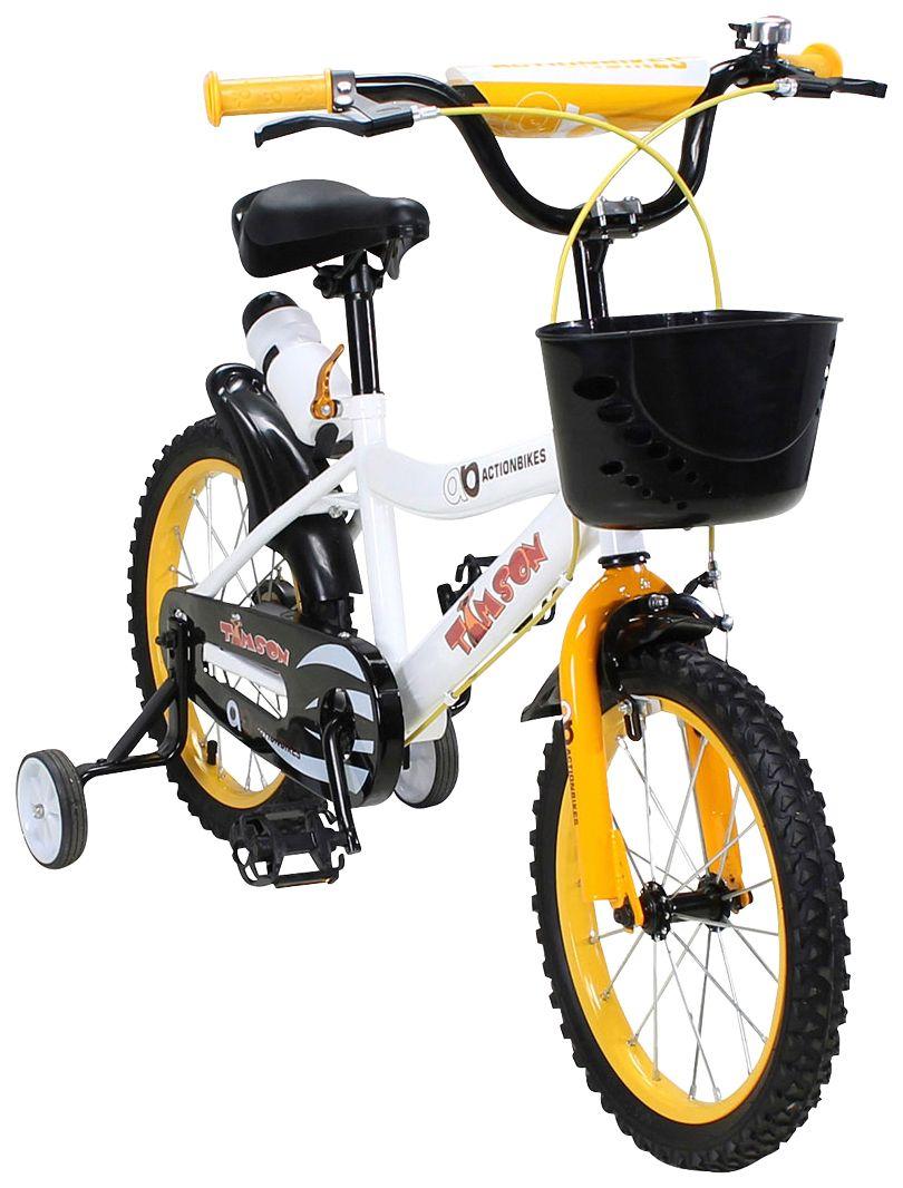 ACTIONBIKES MOTORS Actionbikes Motors Kinderfahrrad »Timson«, 16 Zoll, 1 Gang, Felgenbremse