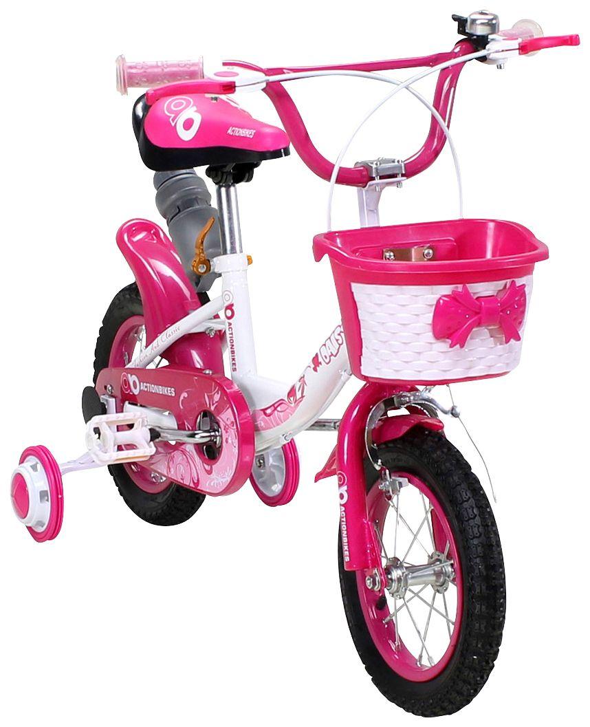 ACTIONBIKES MOTORS Actionbikes Motors Kinderfahrrad »Daisy«, 12 Zoll, 1 Gang, Felgenbremse