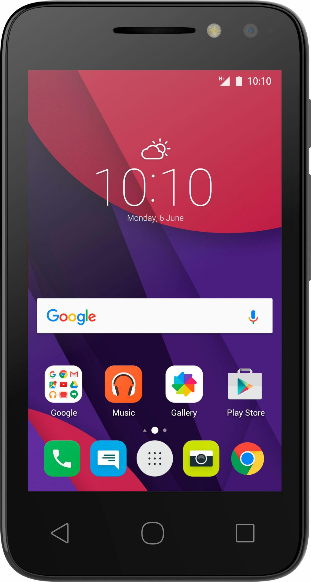 ALCATEL Alcatel PIXI 4-4 (3G) 4034D 4GB Android schwarz