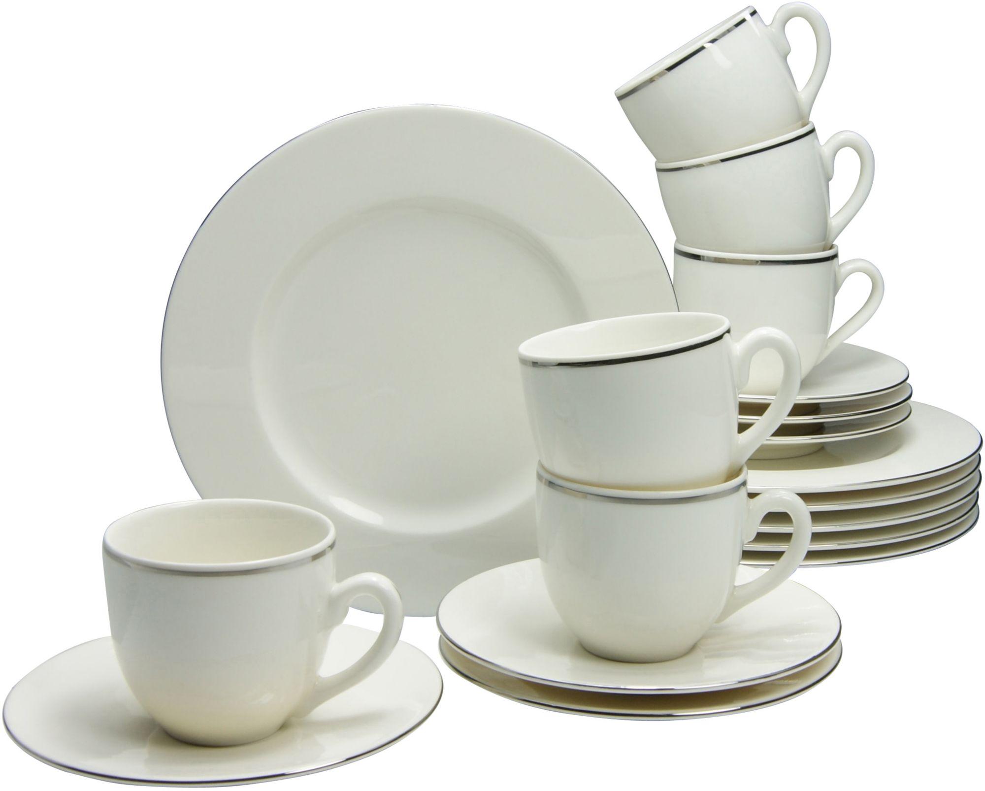 CREATABLE CreaTable Kaffeeservice, Premium-Porzellan, 18 Teile, »VERA«