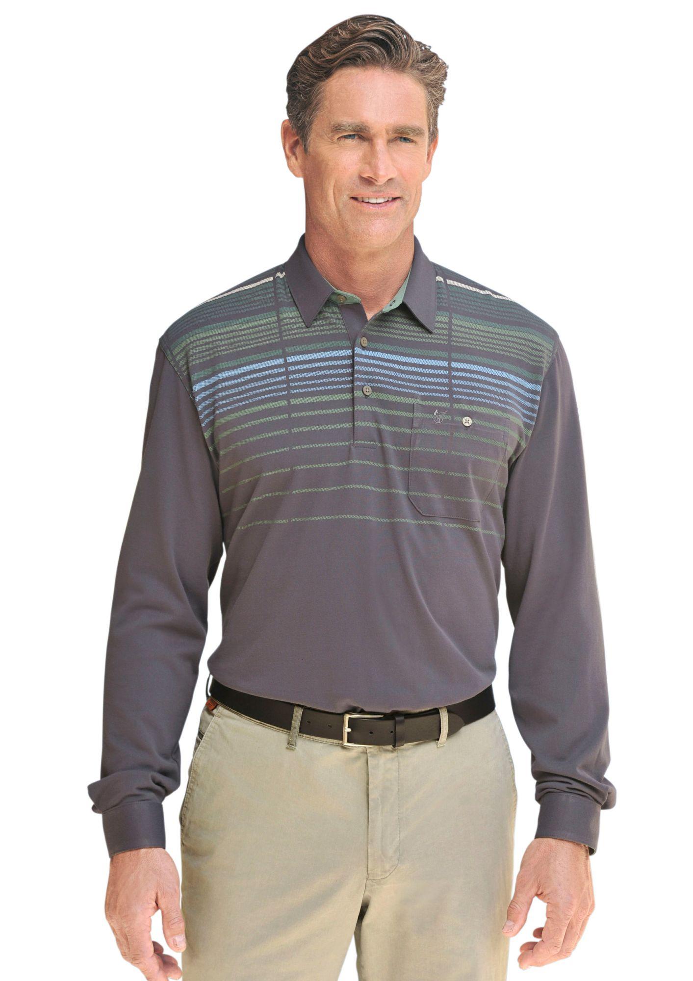 HAJO Hajo Langarm-Poloshirt in bewährter »stay fresh«-Qualität