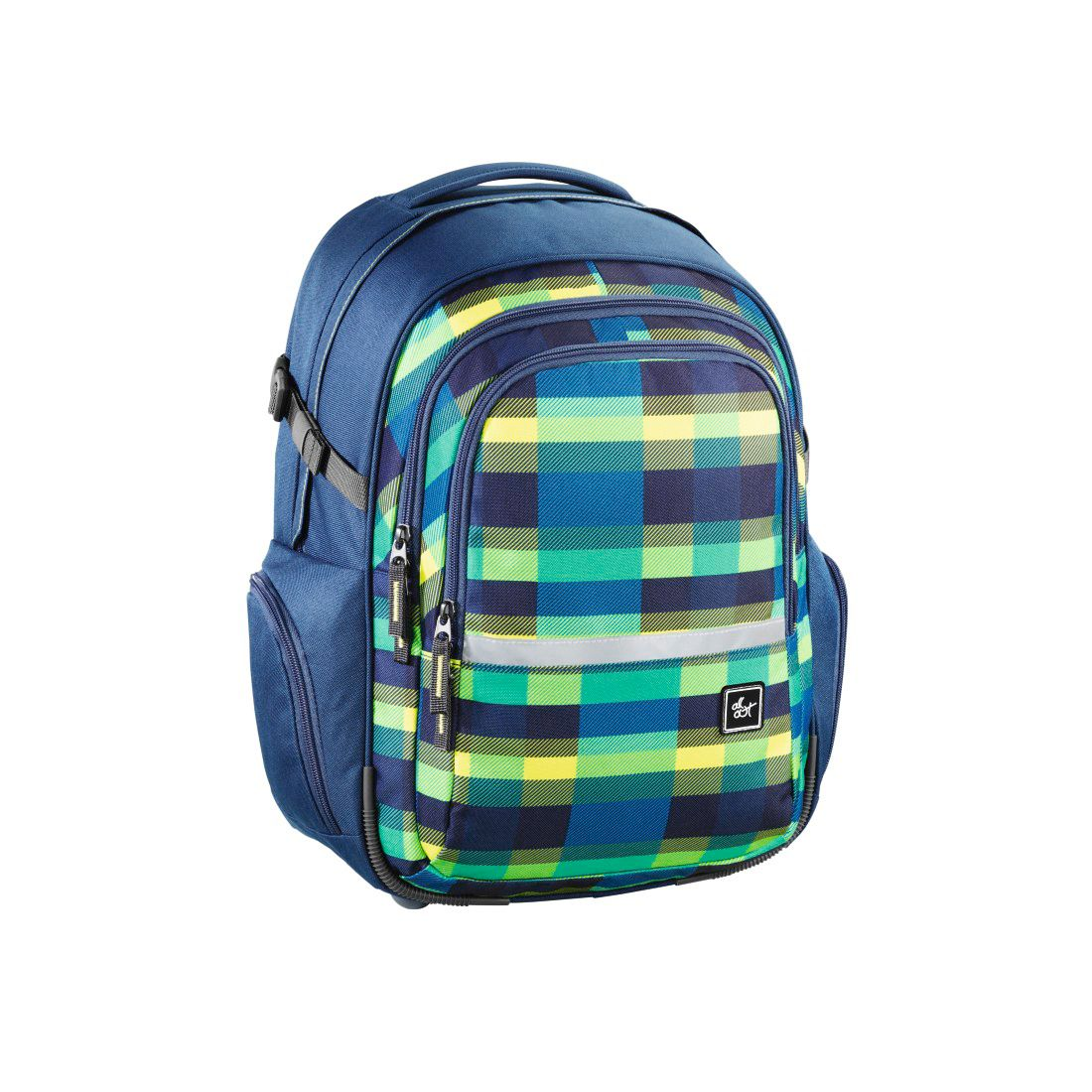 ALL OUT All Out Rucksack Filby, Summer Check Green