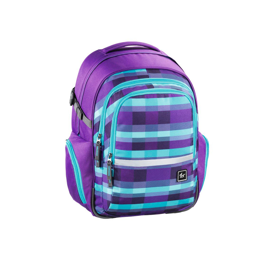 ALL OUT All Out Rucksack Filby, Summer Check Purple