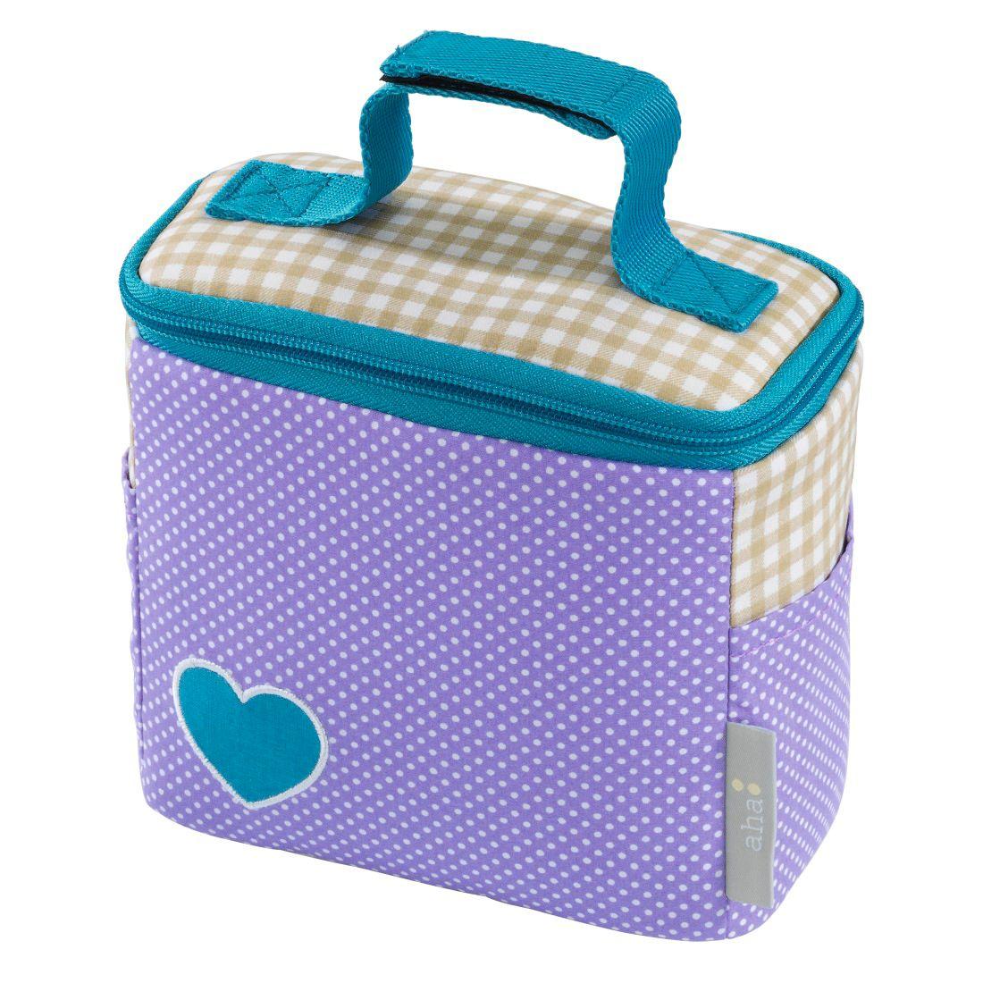 AHA aha: Kinder Kühltasche Isoliertasche für Baby-Gläschen »Girl´s Purple«