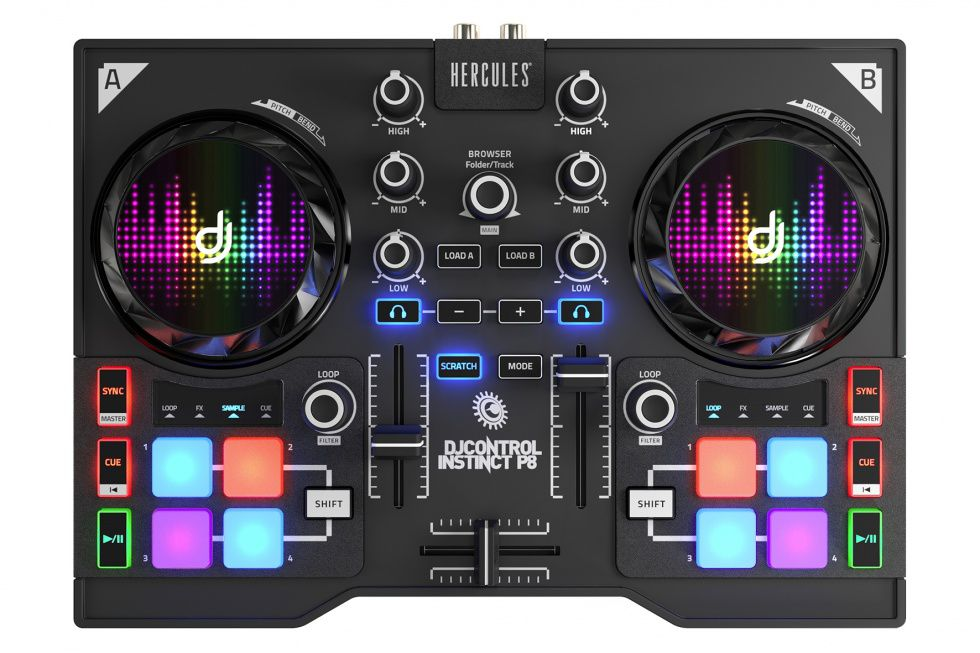 HERCULES Hercules DJ Control Instinct P8 Party Pack (PC)