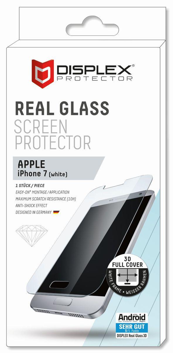 DISPLEX Displex Folie »Vollflächiges Displayschutzglas iPhone 7«
