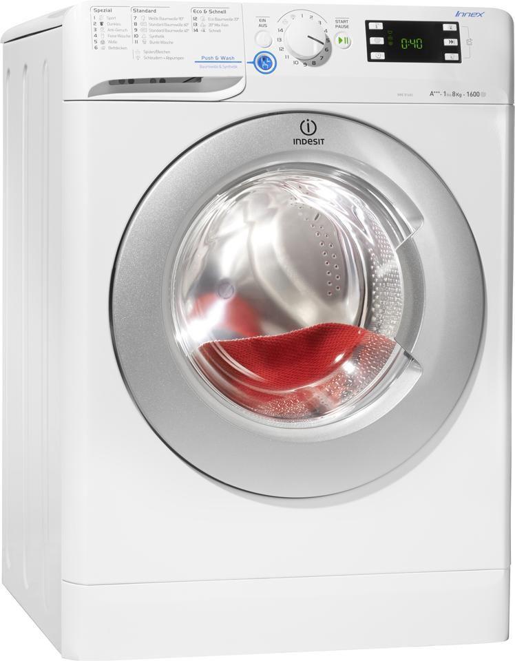 INDESIT Indesit Waschmaschine XWE 81683X WSSS (DE), A+++, 8 kg, 1600 U/Min