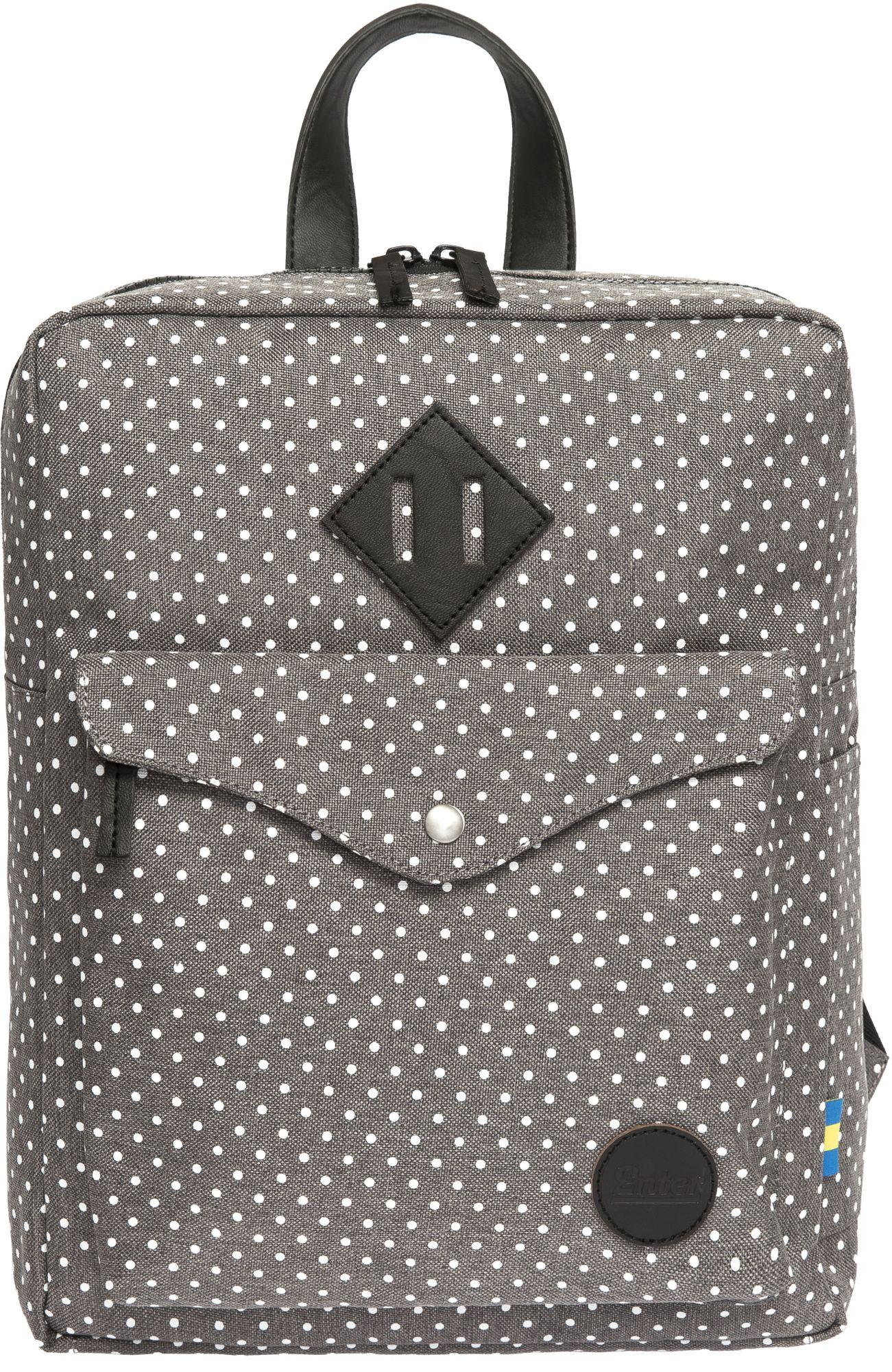 ENTER Enter Rucksack, »Sports Backpack Mini, Melange Grey/White Polkadot«