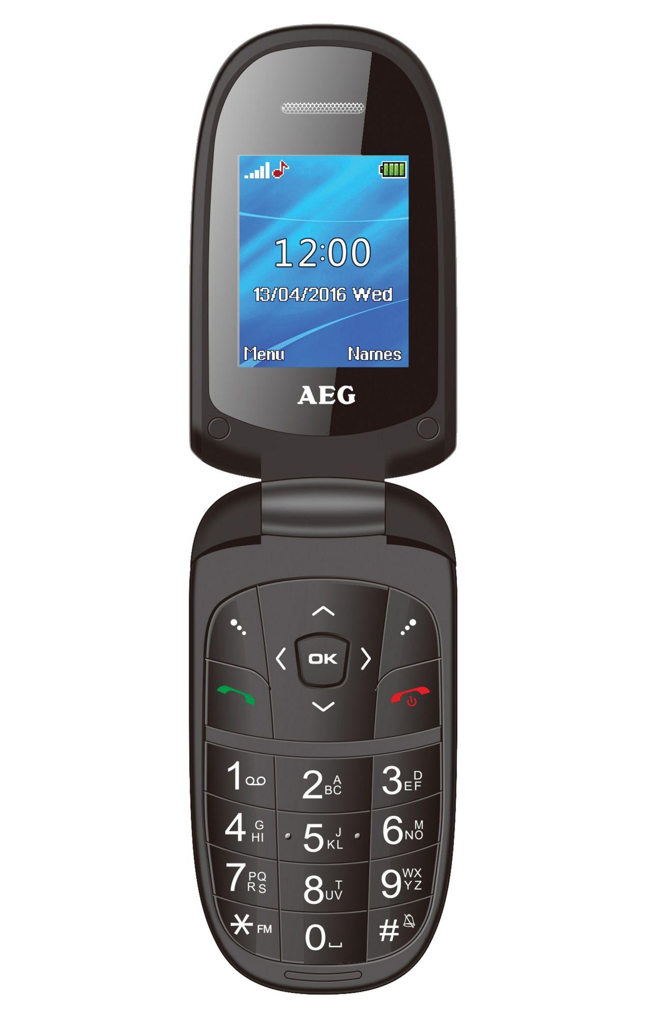 AEG  Dual-SIM Klapp-Handy »M1500«