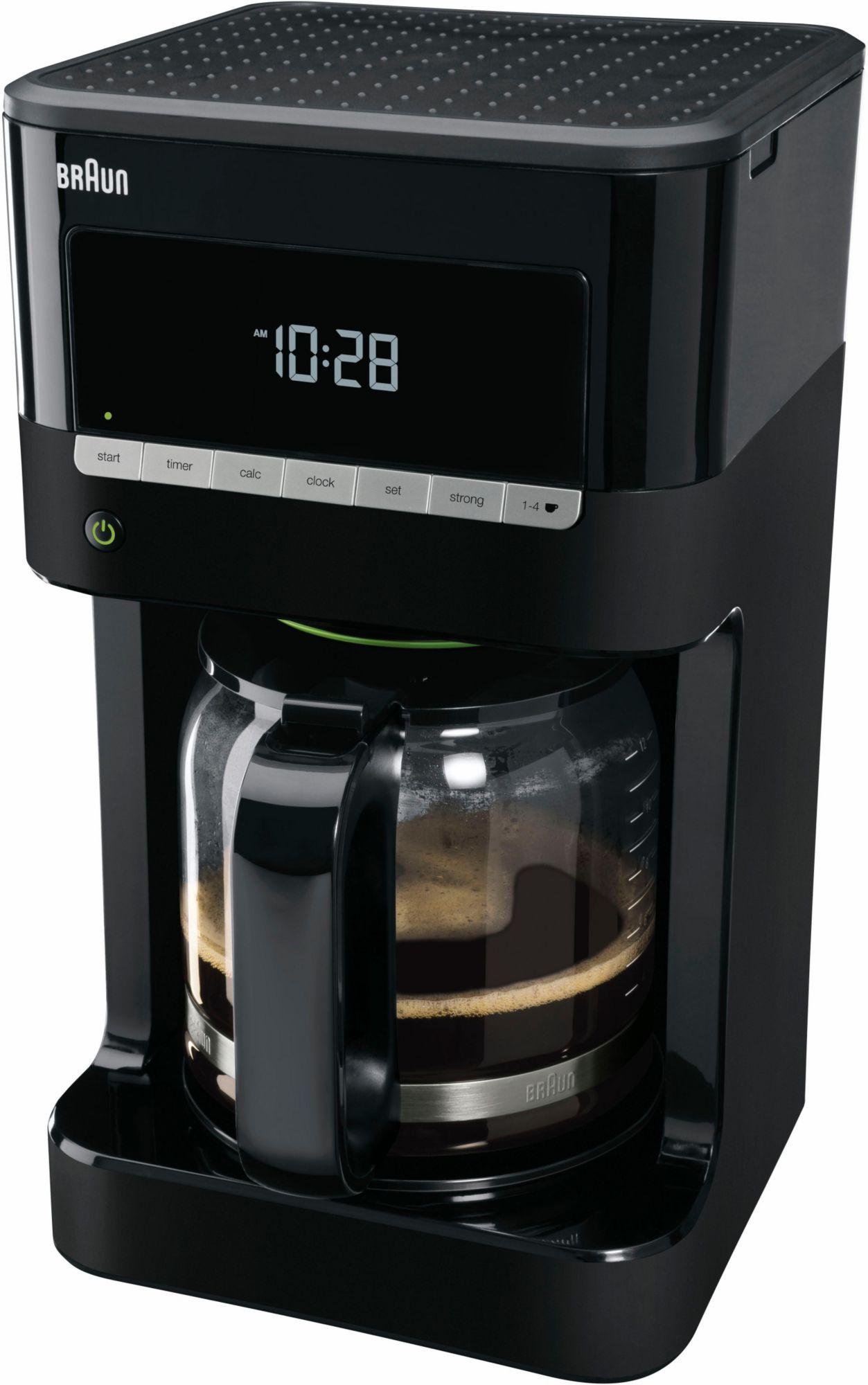 BRAUN Braun Kaffeemaschine KF 7020, schwarz