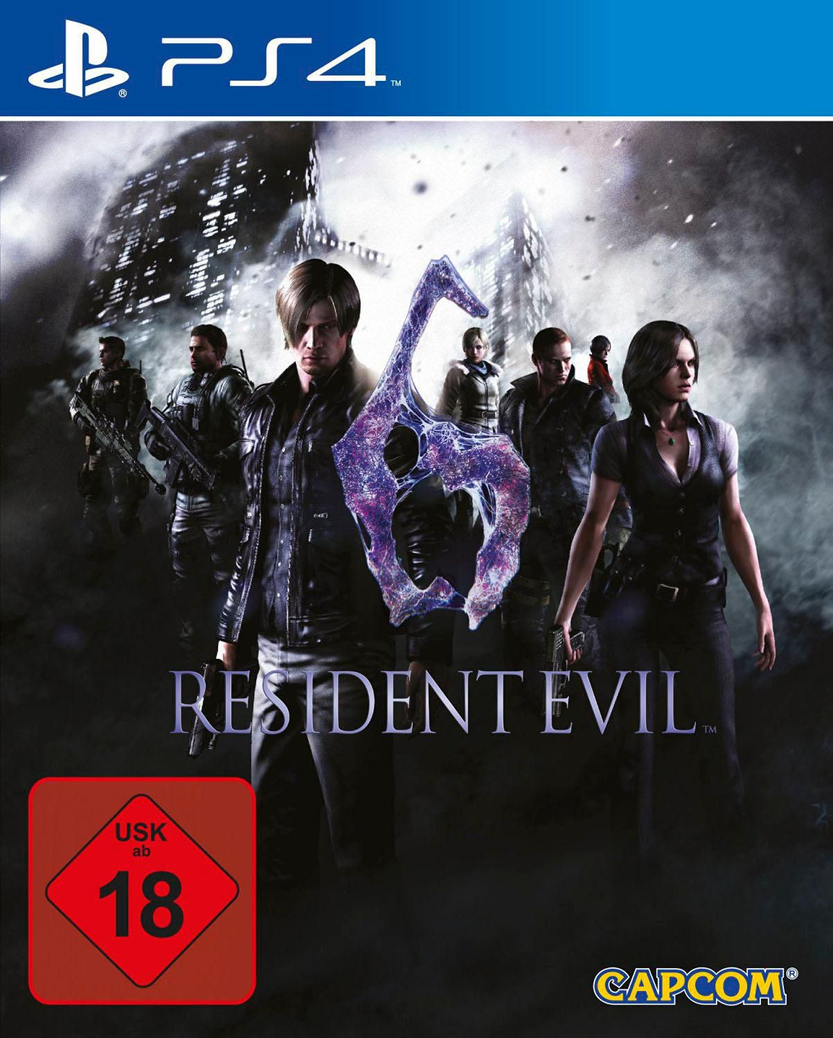 CAPCOM Resident Evil 6 (PS4)