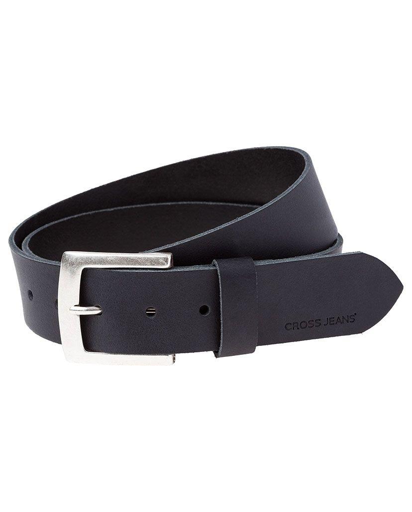 CROSS JEANS ® CROSS Jeans ® Ledergürtel mit eckiger Metallschließe