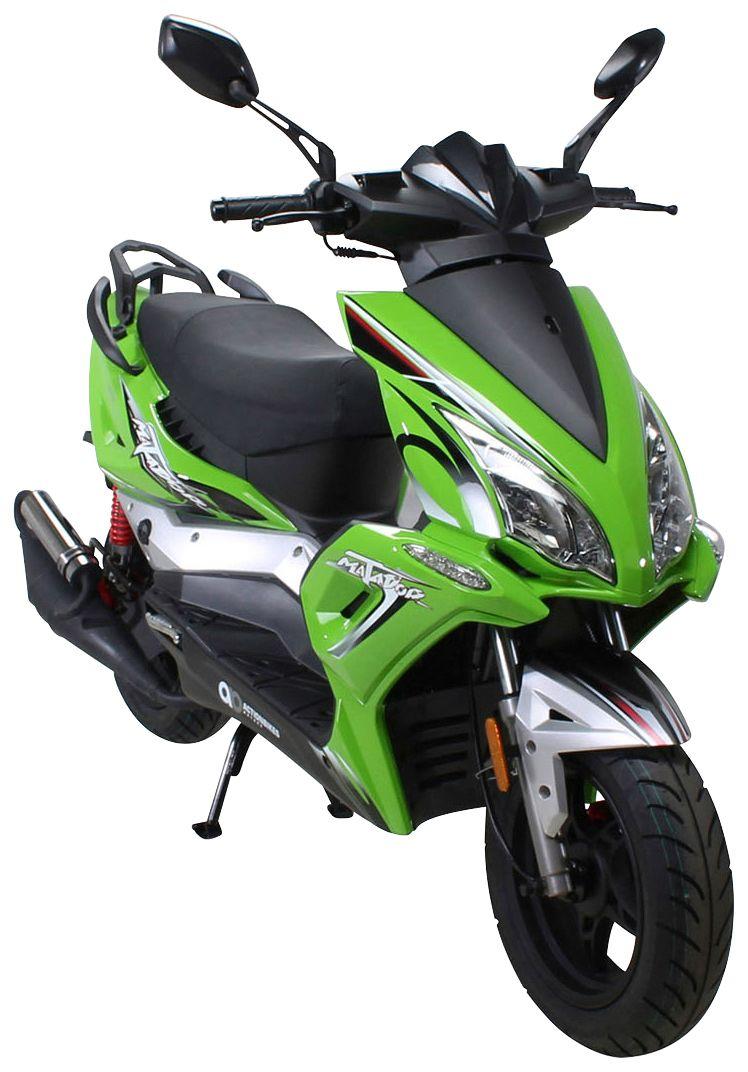 ACTIONBIKES MOTORS  Motorroller »Matador «, 50 ccm, 25 km/h, entdrosselbar