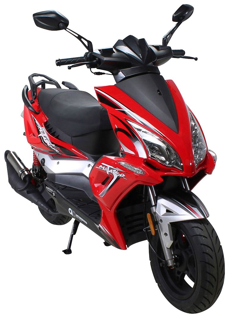 ACTIONBIKES MOTORS  Motorroller »Matador «, 50 ccm, 45 km/h