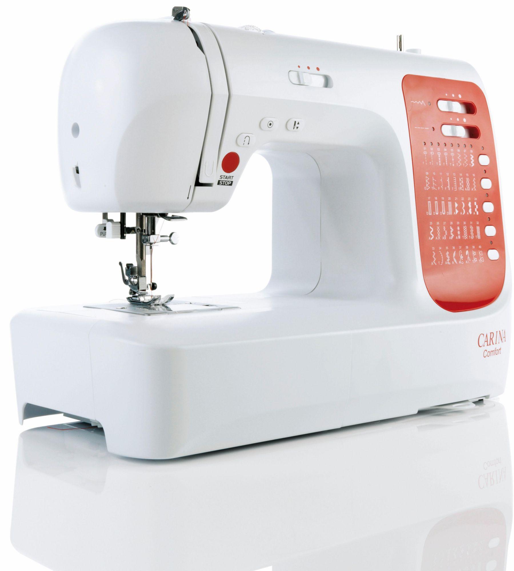 CARINA Carina Computer-Nähmaschine Comfort, 40 Stichprogramme, mit Zubehör
