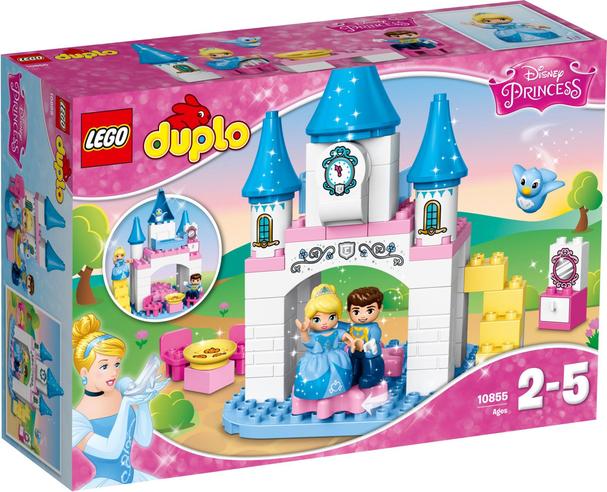 LEGO® 10855 DUPLO Cinderellas Märchenschloss, Konstruktionsspielzeug