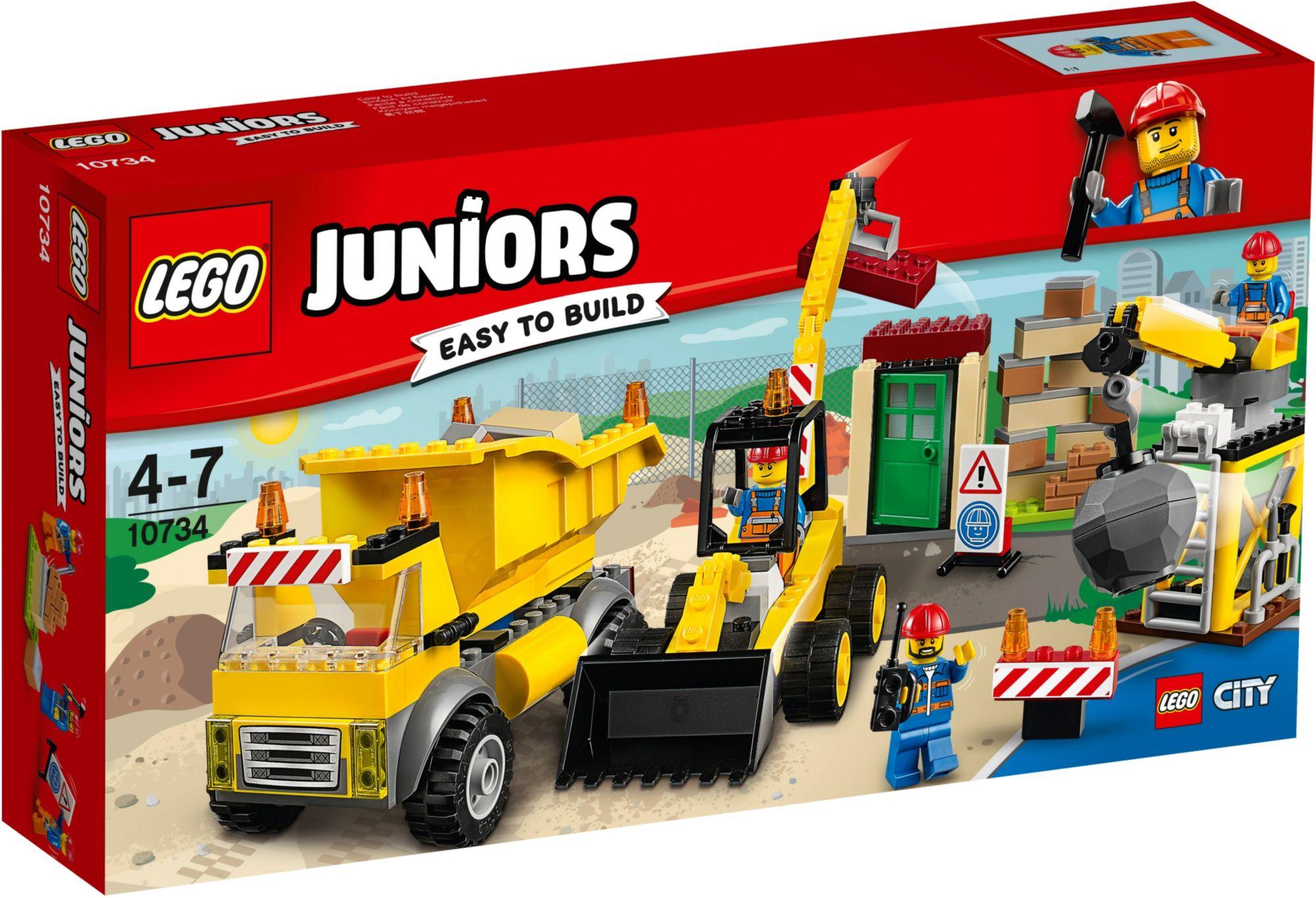 LEGO® 10734 Juniors Große Baustelle, Konstruktionsspielzeug