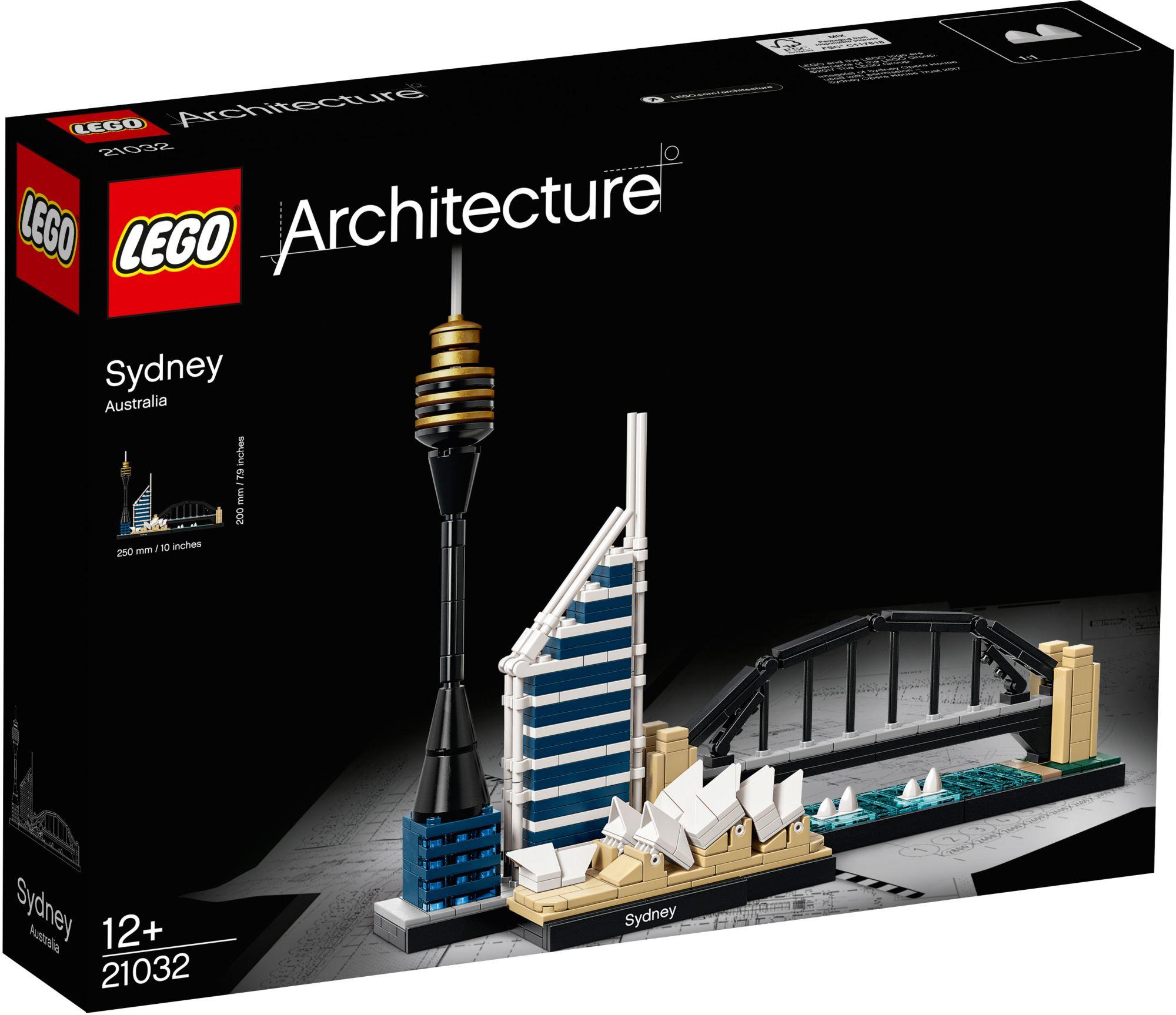 LEGO® 21032 Architecture Sydney, Konstruktionsspielzeug