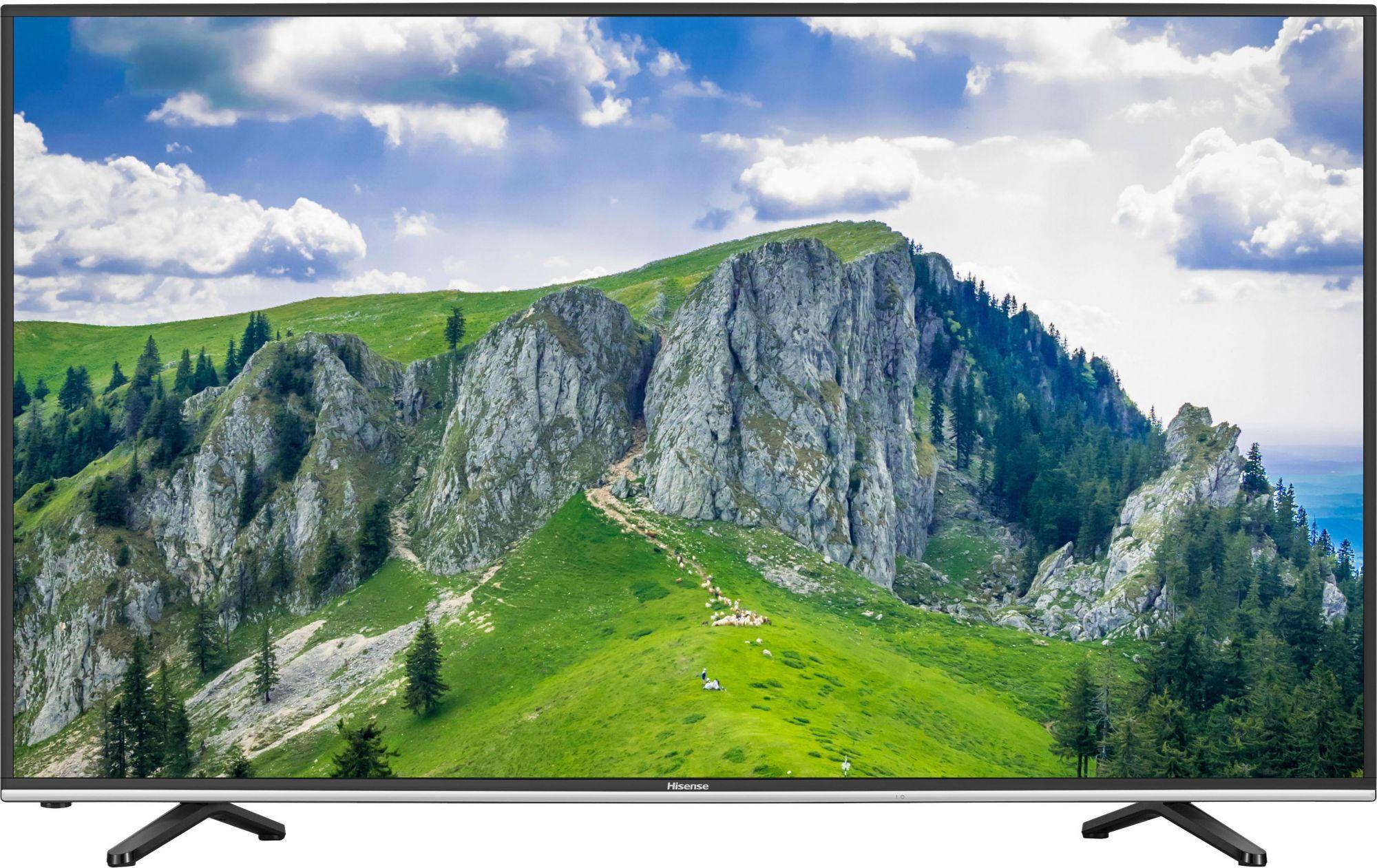 HISENSE Hisense H55MEC3050, LED Fernseher, 138 cm (55 Zoll), 2160p (4K Ultra HD), Smart-TV