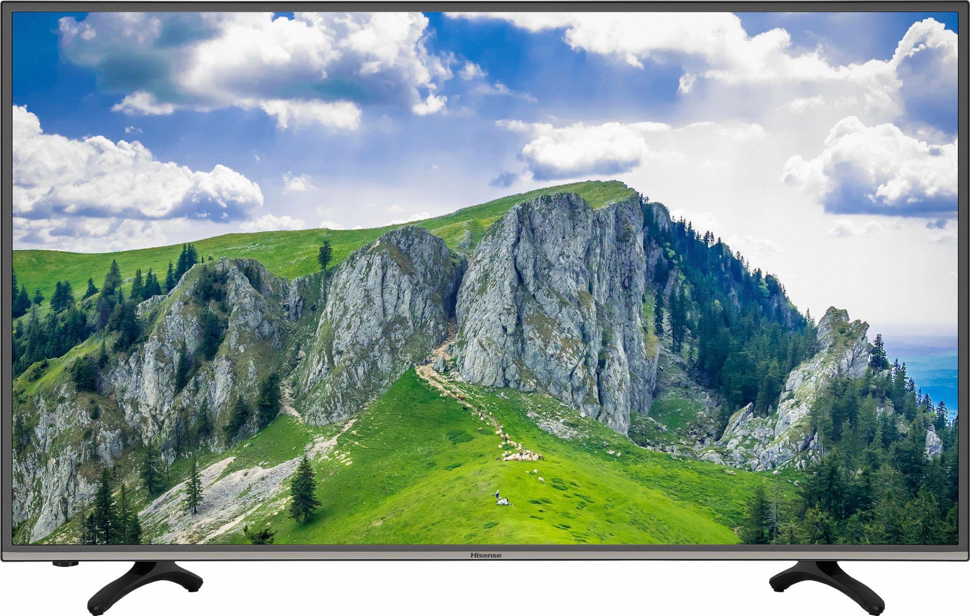 HISENSE Hisense H49MEC3050, LED Fernseher, 123 cm (49 Zoll), 2160p (4K Ultra HD), Smart-TV