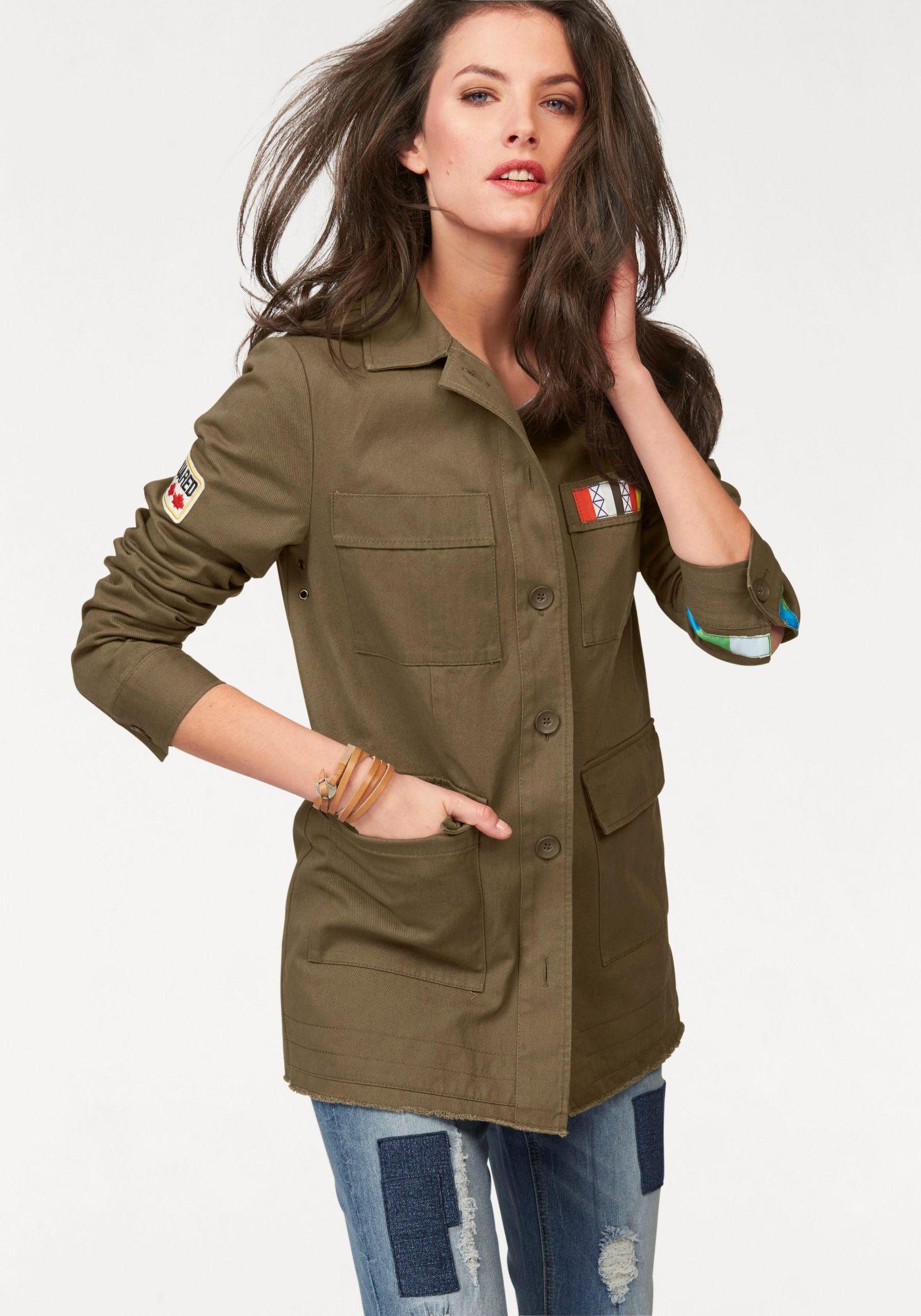 ANISTON Aniston Military-Jacke