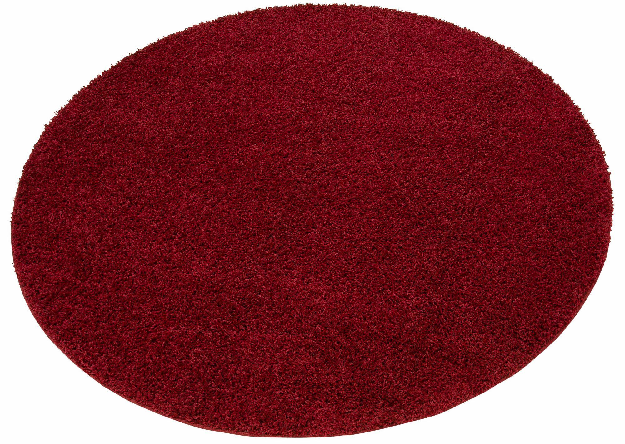 HOME AFFAIRE COLLECTION Hochflor-Teppich, rund, Home affaire Collection, »Shaggy 30«, Höhe 30 mm, gewebt