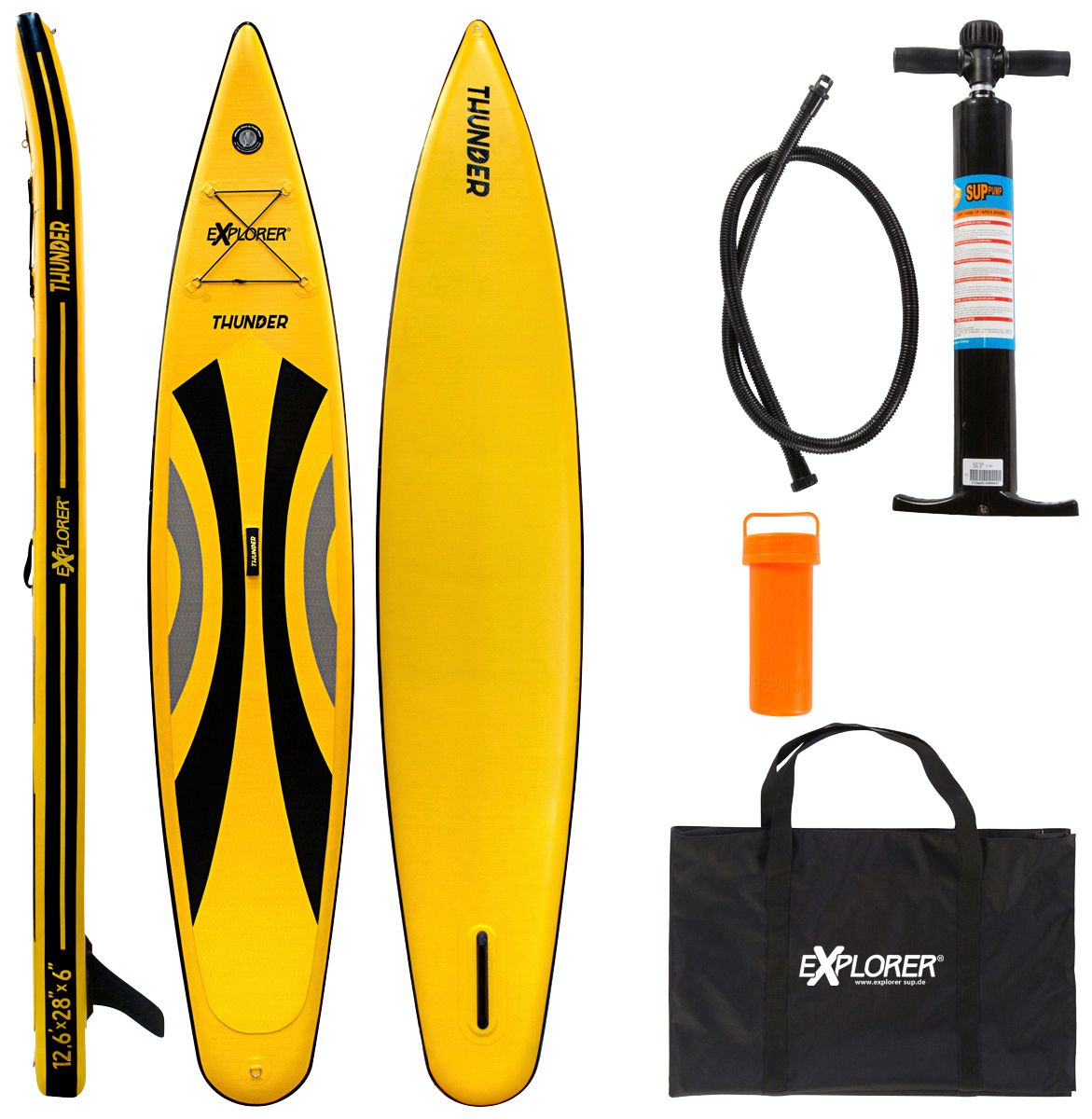 EXPLORER  Stand Up Paddle SUP-Board »Thunder«, BxL: 71 x 380 cm