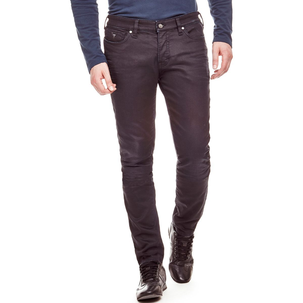 GUESS Guess 5-POCKET-JEANS TAPERED