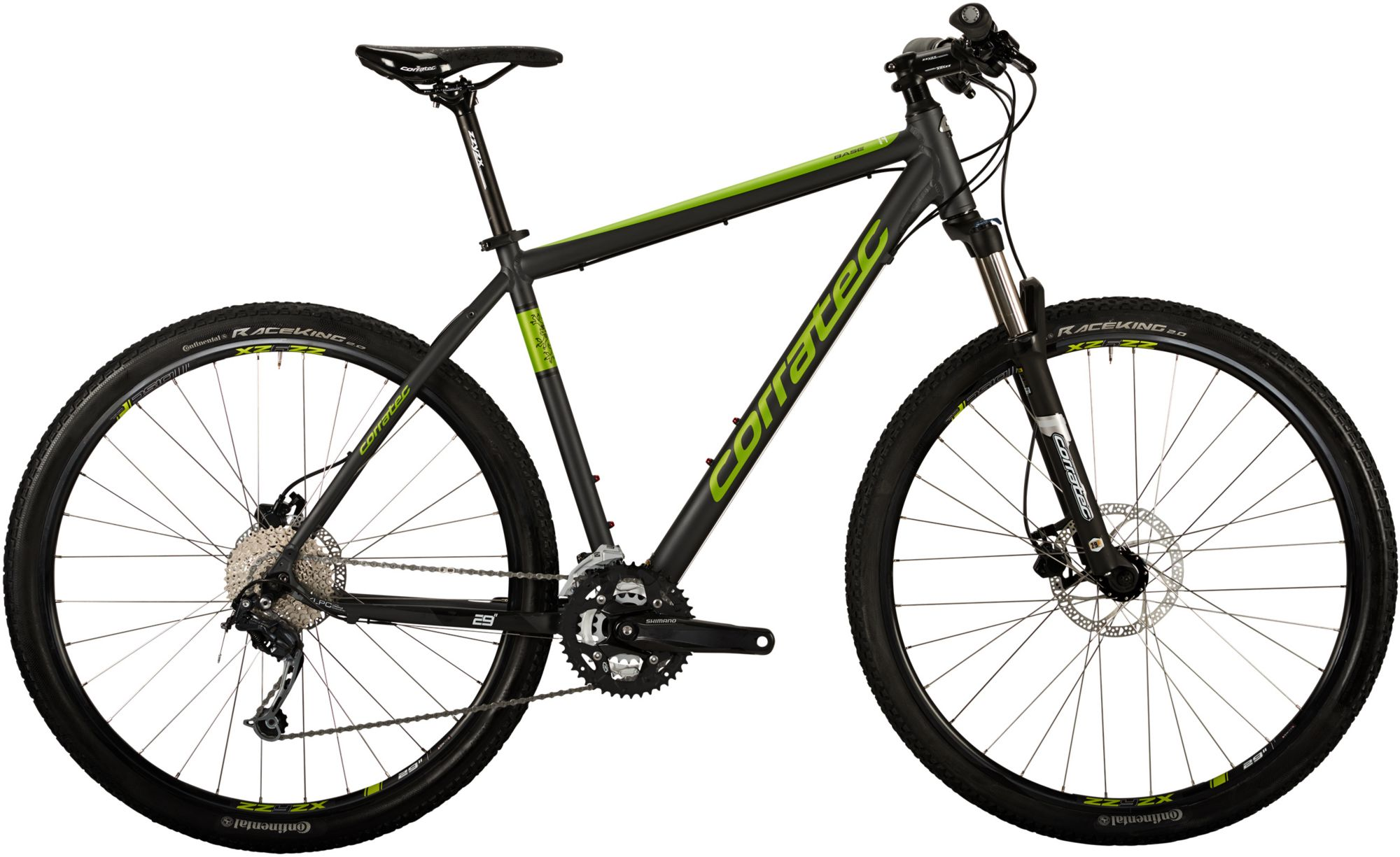 CORRATEC Corratec Hardtail Mountainbike, 29 Zoll, 27 Gang Shimano Deore, »MT CROSS Base Gent«