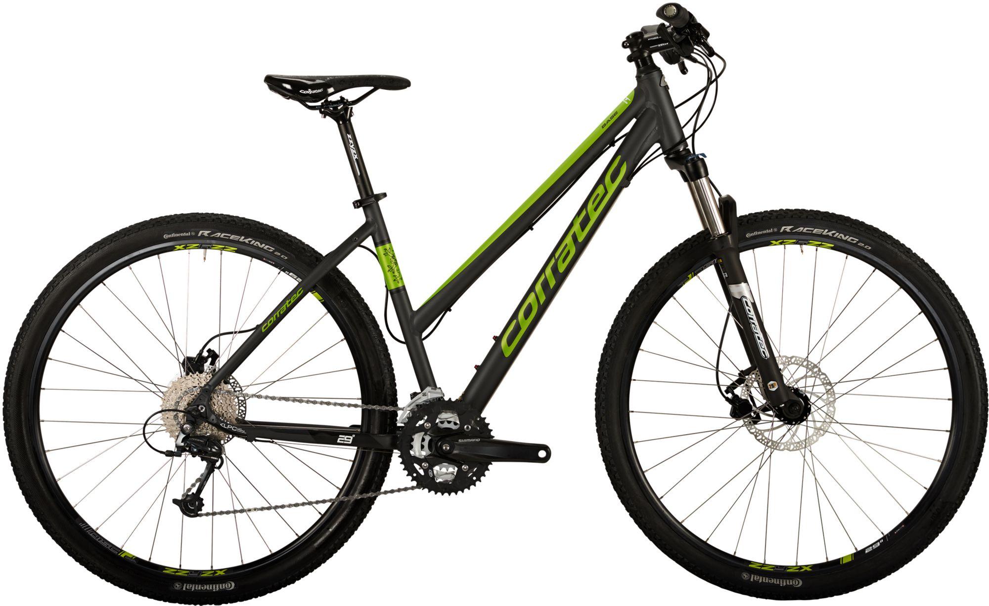 CORRATEC Corratec Hardtail Mountainbike, 29 Zoll, 27 Gang Shimano Deore, »MT CROSS Base Lady«