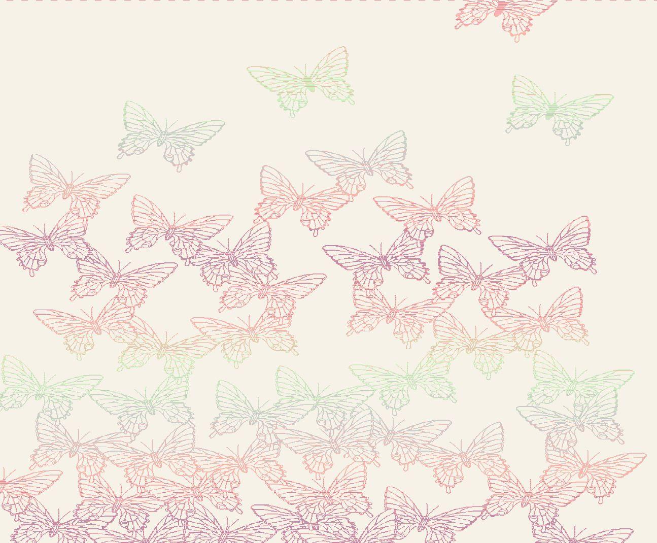 BIEDERLACK Wohndecke, Biederlack, »Butterfly«, im Natur Design