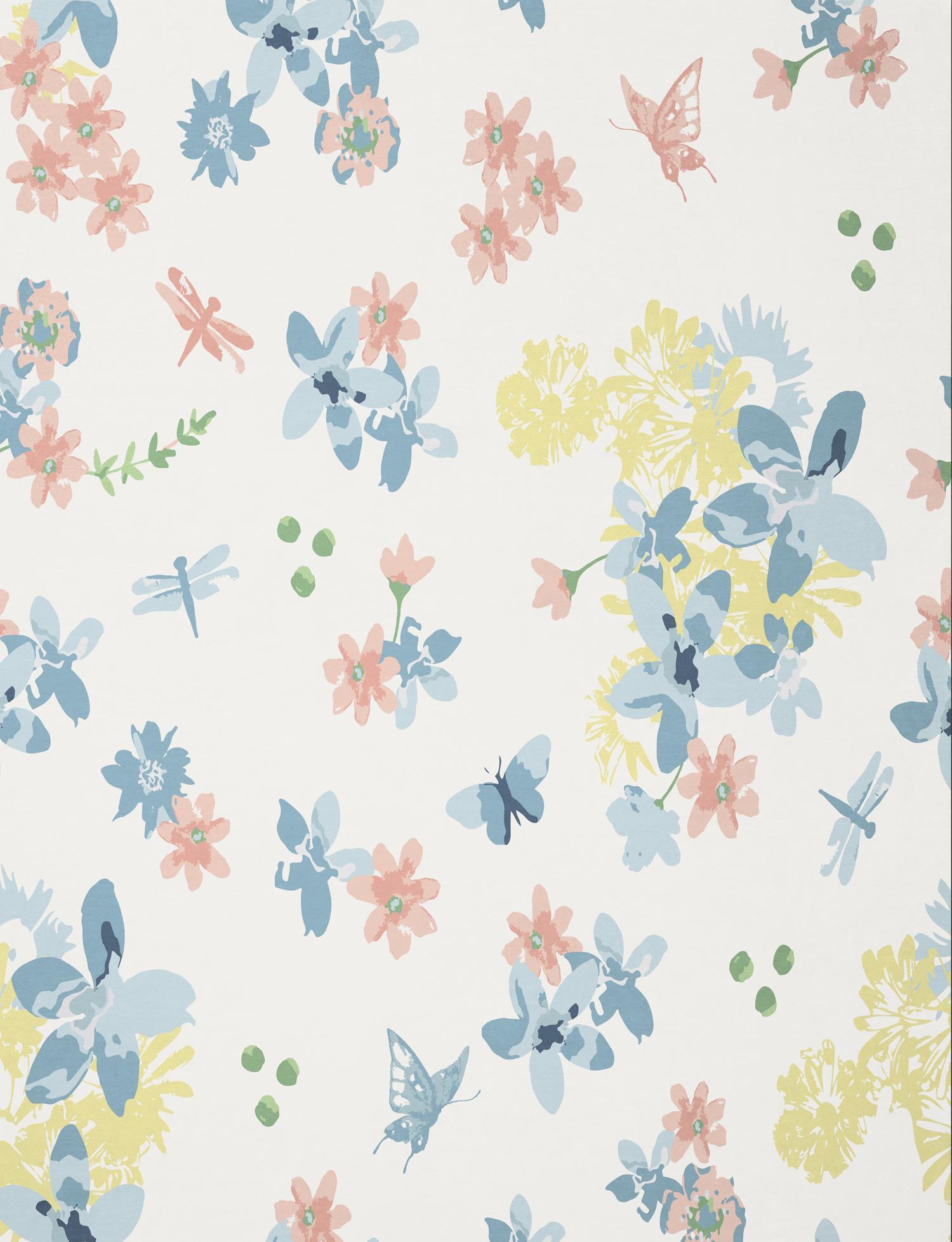 BIEDERLACK Wohndecke, Biederlack, »Blumenwiese«, im Sommerlichen Natur Design