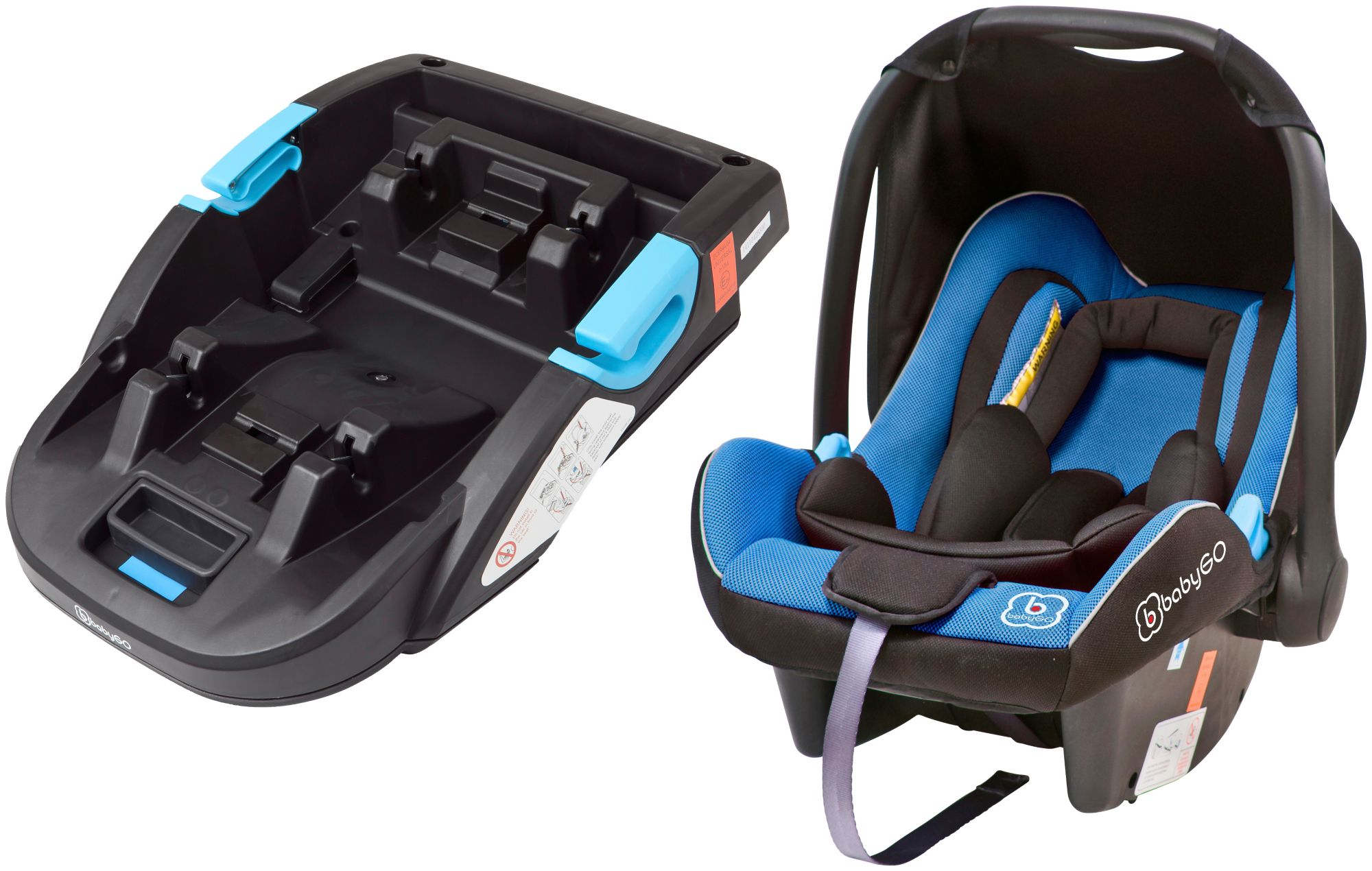 BABYGO  Kindersitz »Travel XP + Base«, 0 - 13 kg, Reboard